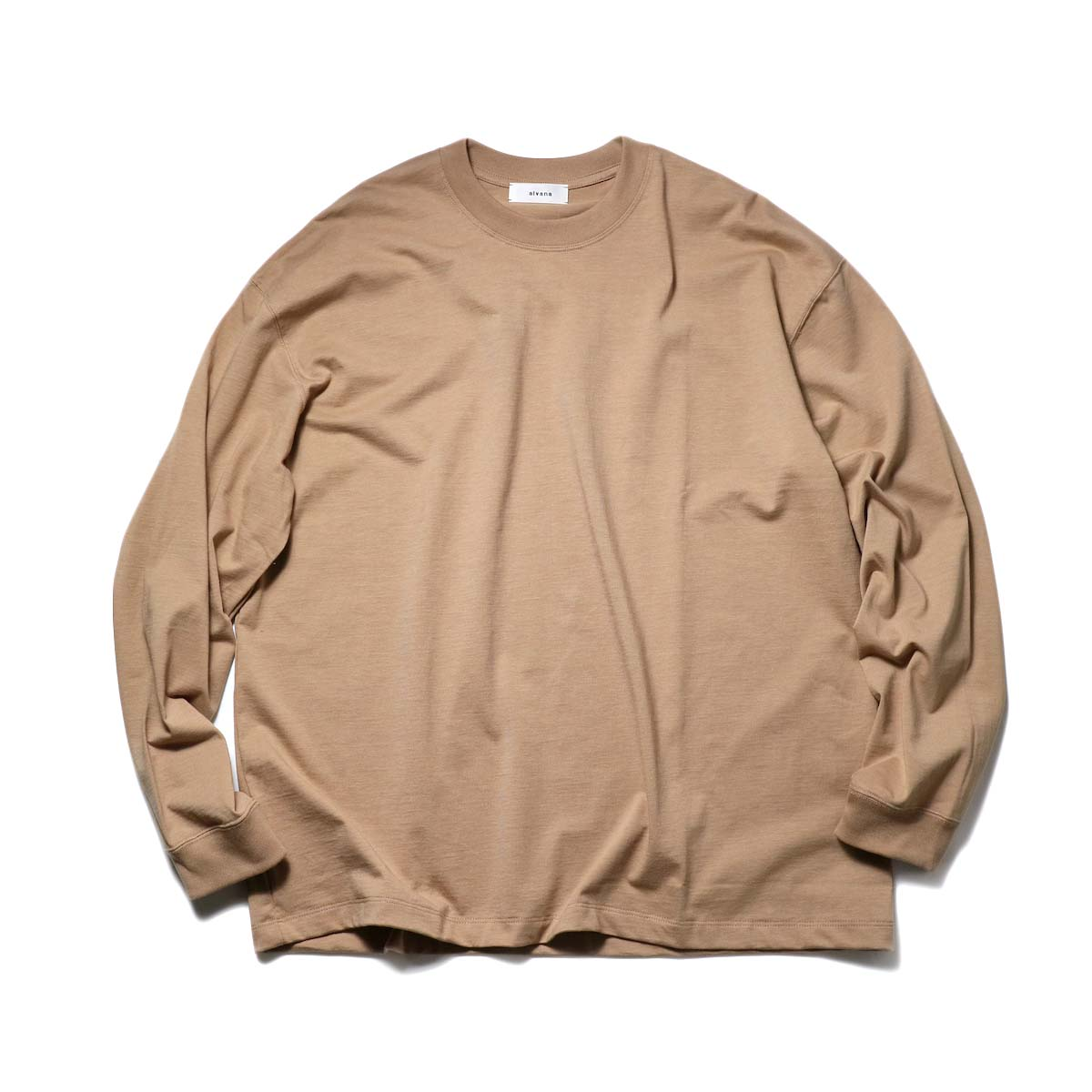 alvana / TANGUIS L/S TEE SHIRTS (Light Brown)