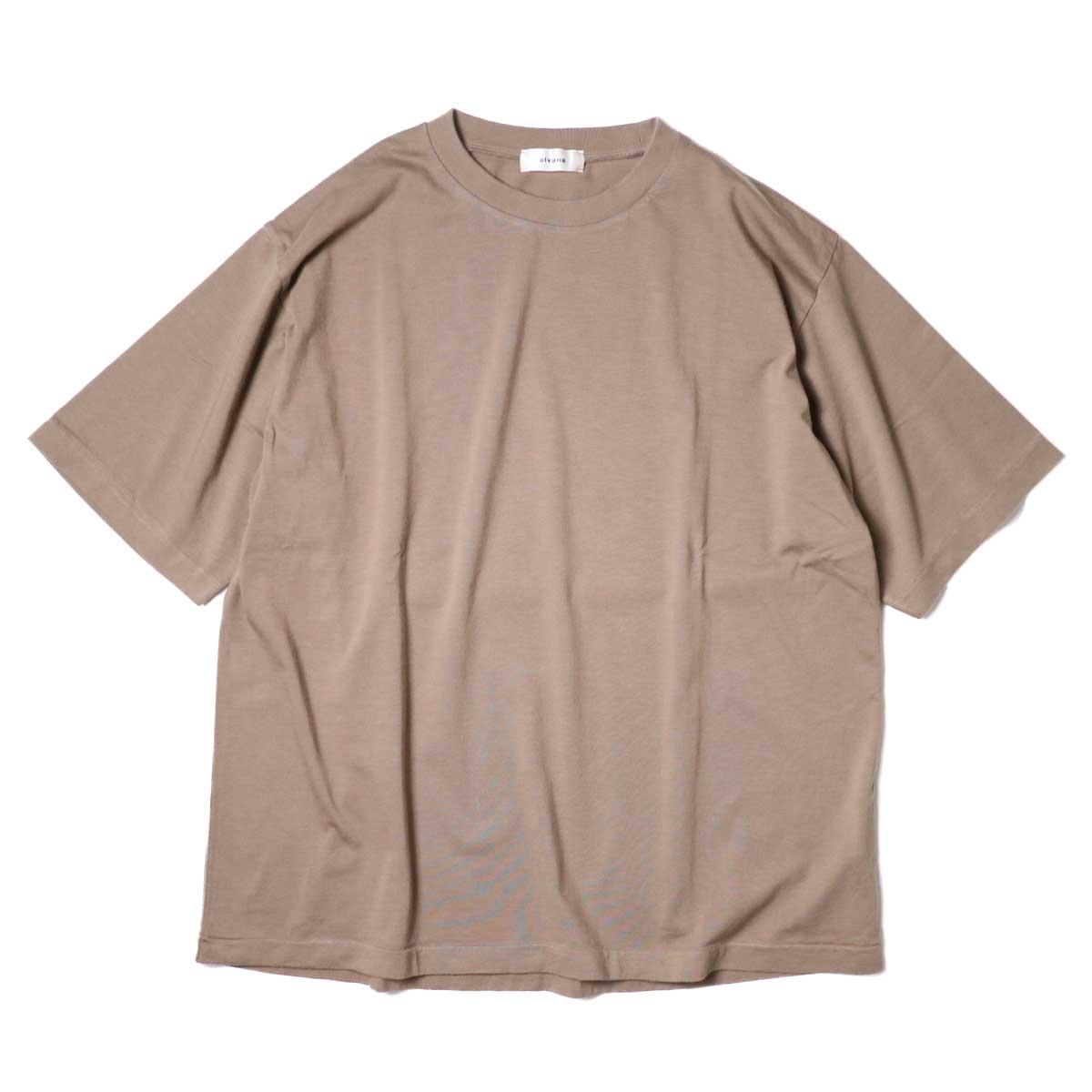 alvana / Dairy Oversize Tee Shirts (Sunset Beige)