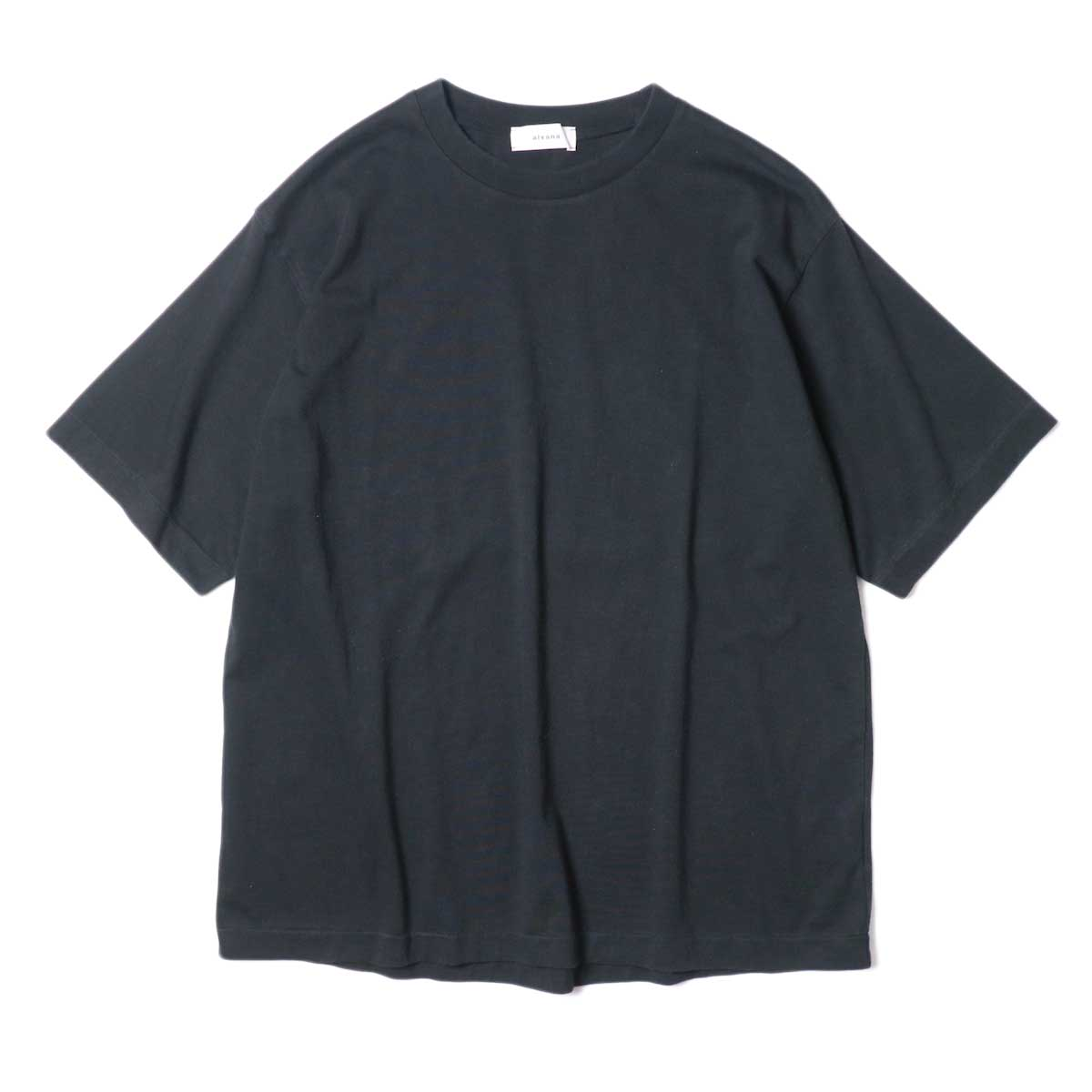 alvana / Dairy Oversize Tee Shirts (Black)