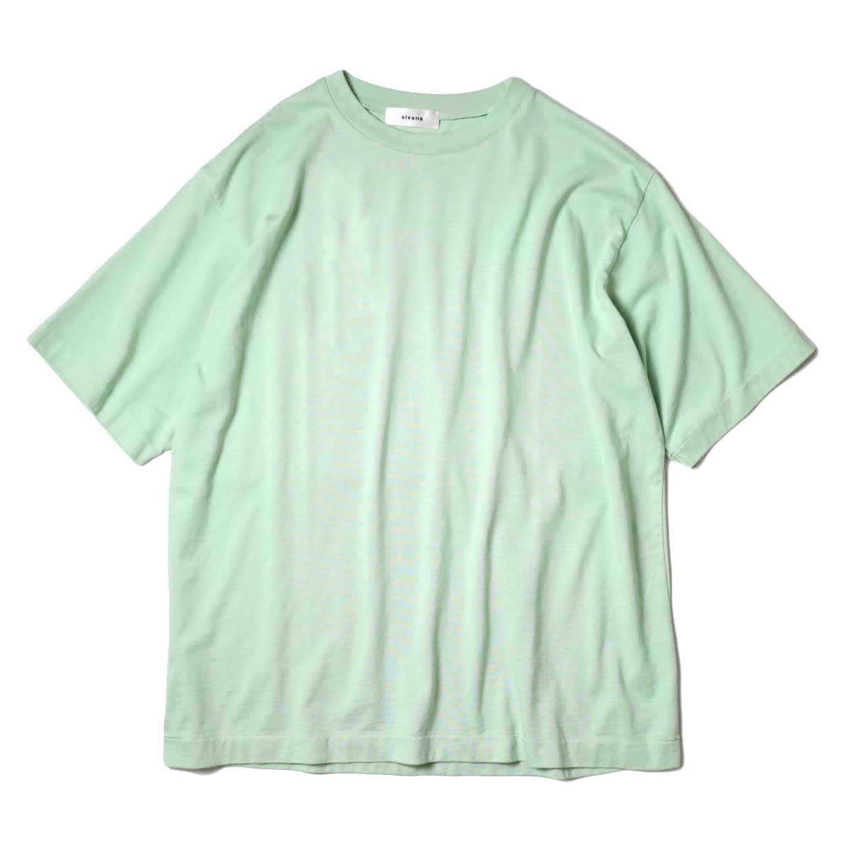 alvana / Dairy Oversize Tee Shirts (Forest Green) 正面