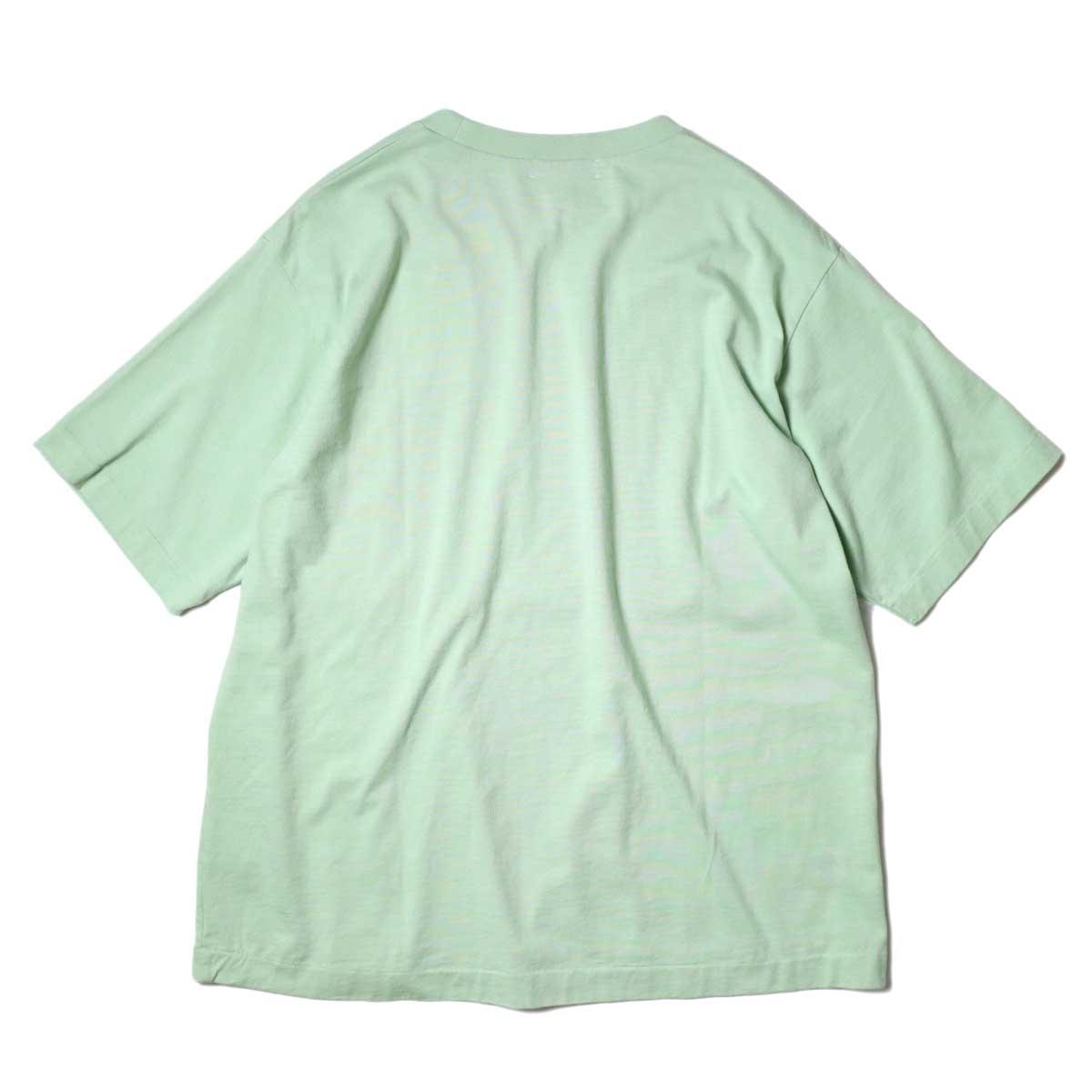 alvana / Dairy Oversize Tee Shirts (Forest Green) 背面