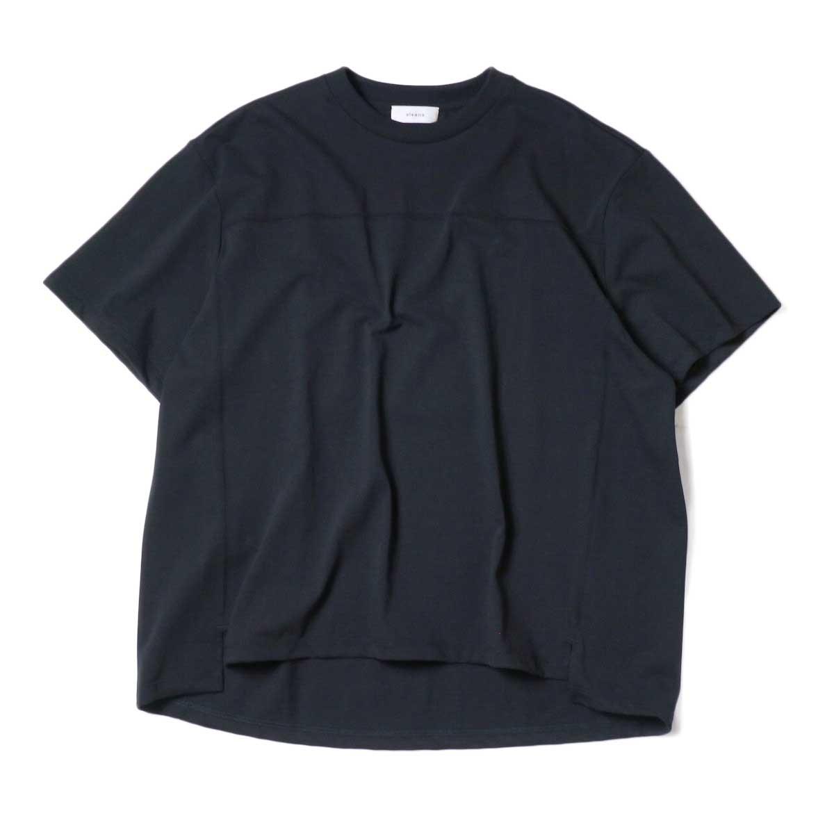 alvana / Protect Football S/S Tee (Black) 正面