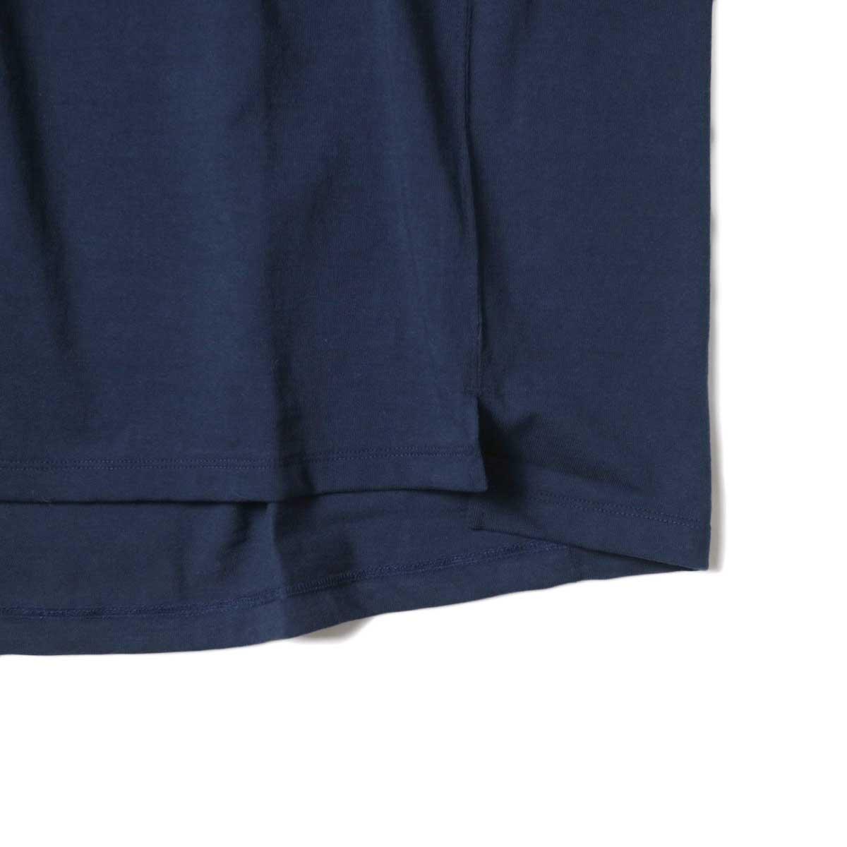 alvana / Protect Football S/S Tee (Dark Navy)裾