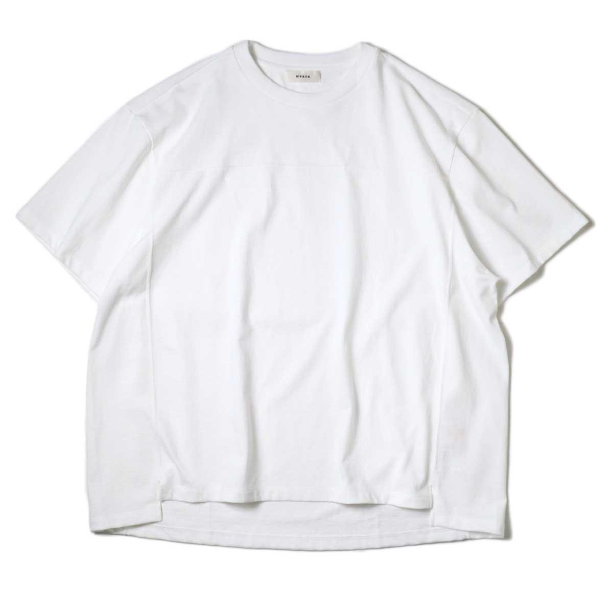 alvana / Protect Football S/S Tee (White)正面