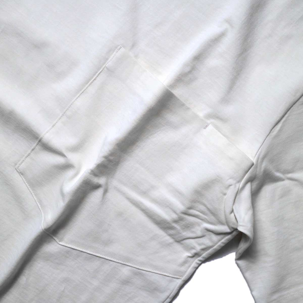 alvana / Tanguis Wide Pocket Tee (Ivory)胸ポケット