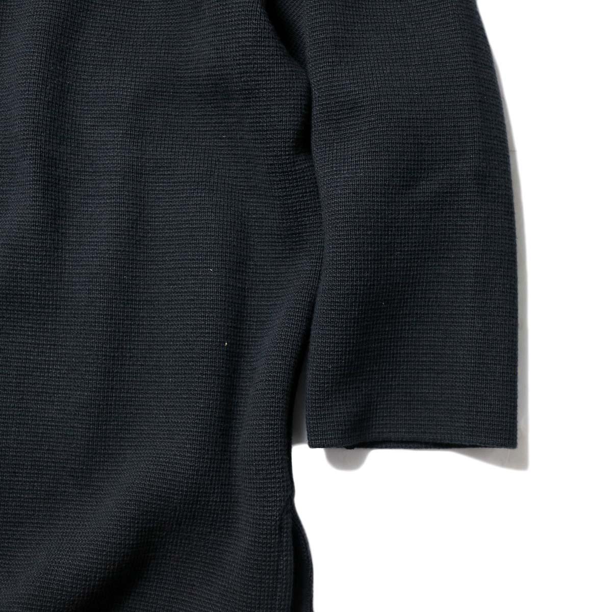 alvana / MILANO 2WAY TUNIC P.O (Black)袖、裾