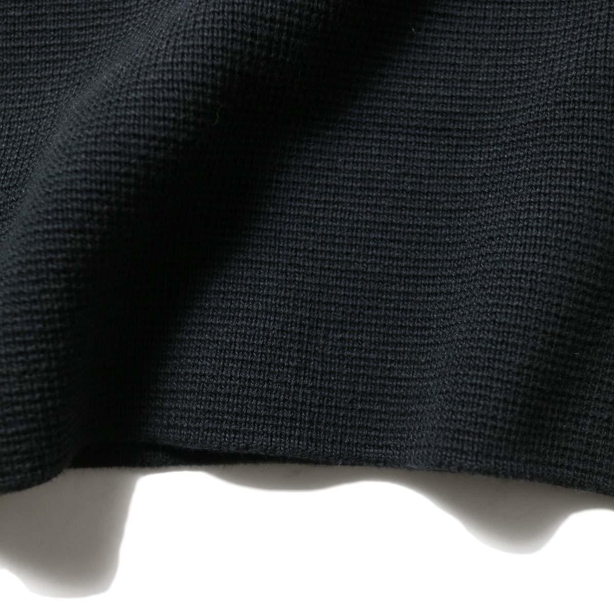 alvana / MILANO 2WAY TUNIC P.O (Black)リブ