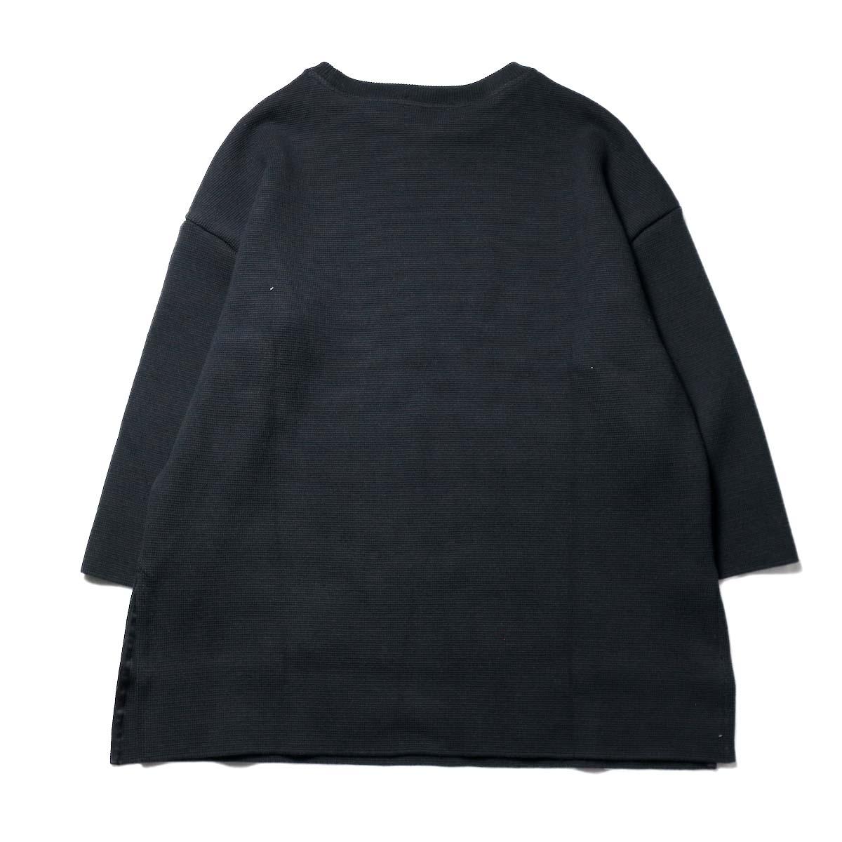 alvana / MILANO 2WAY TUNIC P.O (Black)背面