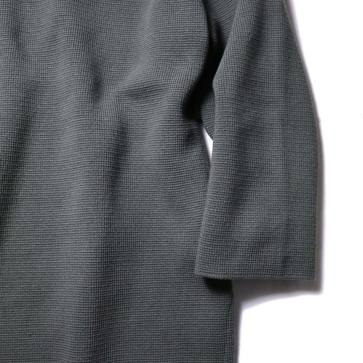 alvana / MILANO 2WAY TUNIC P.O (Green)袖、裾