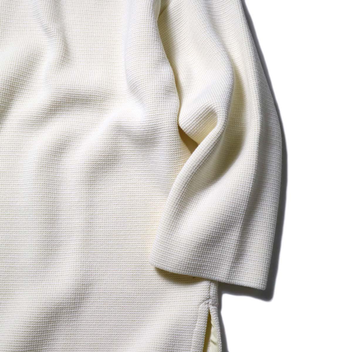 alvana / MILANO 2WAY TUNIC P.O (Ivory)袖、裾