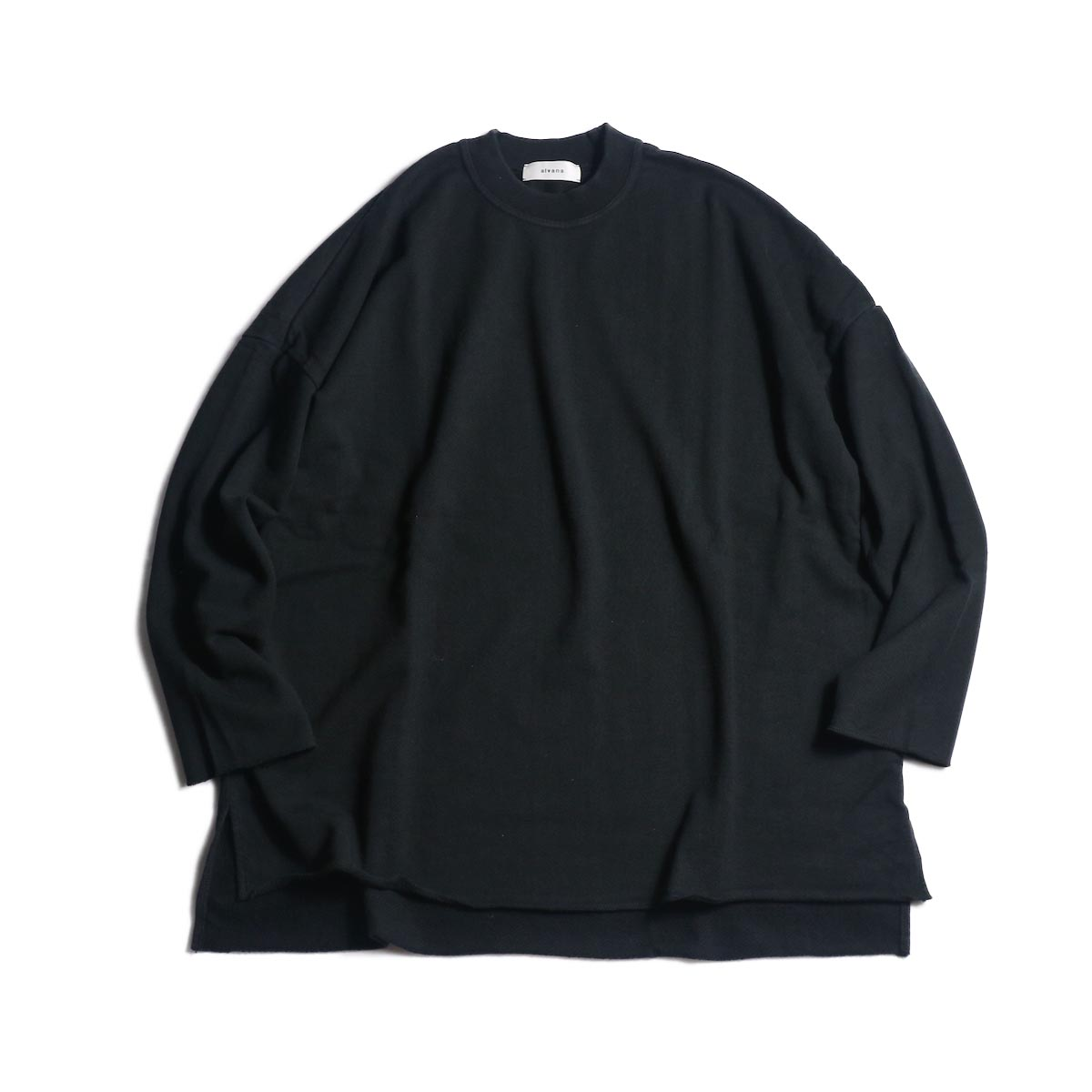 alvana / ULTIMATE CUT OFF L/S PO (Ink Black)