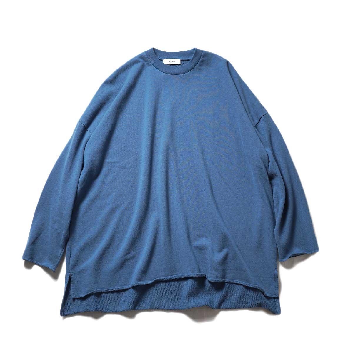 alvana / Ultimate Cut Off L/S PO (Smoke Blue)