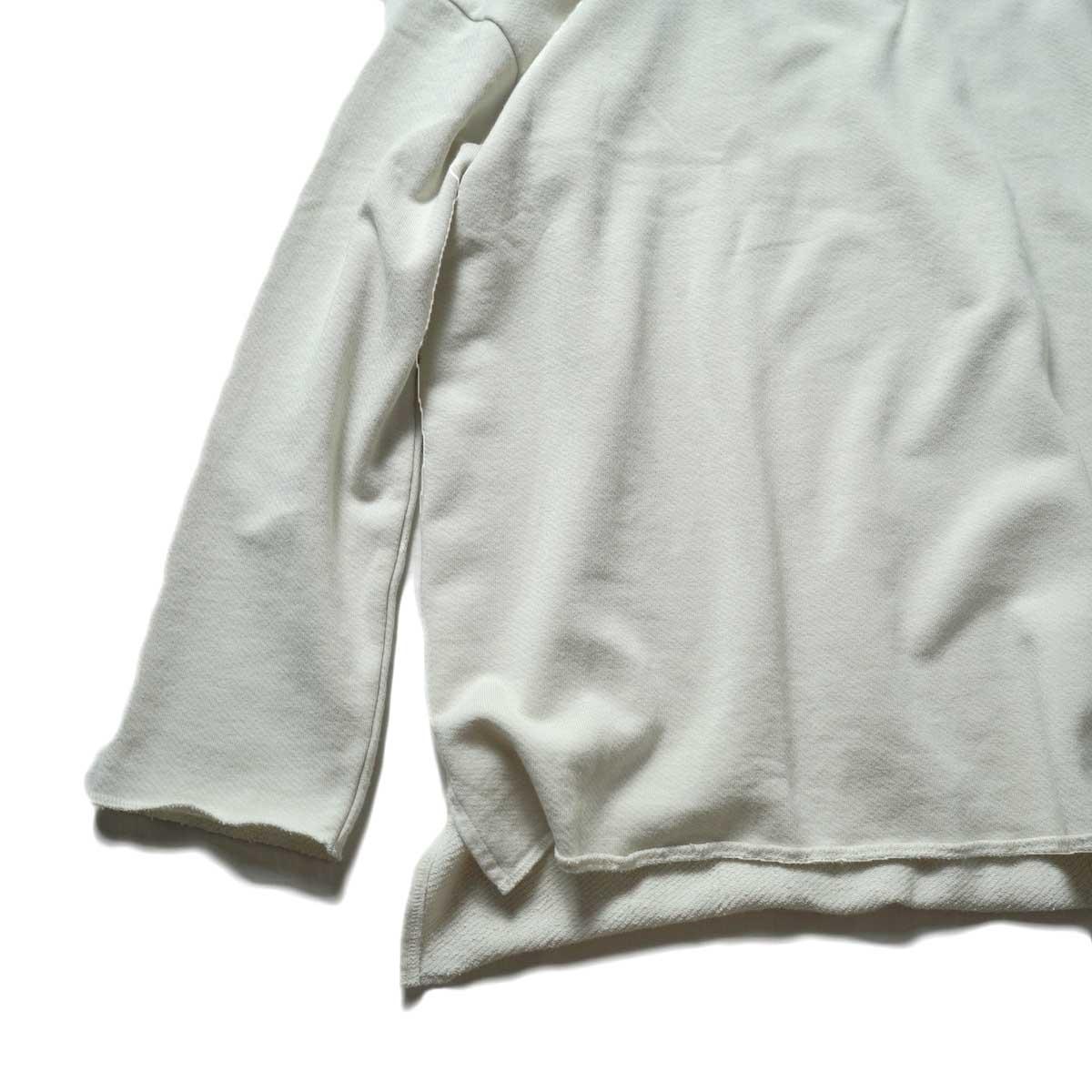 alvana / Ultimate Cut Off Parka (Ecru Gray)裾