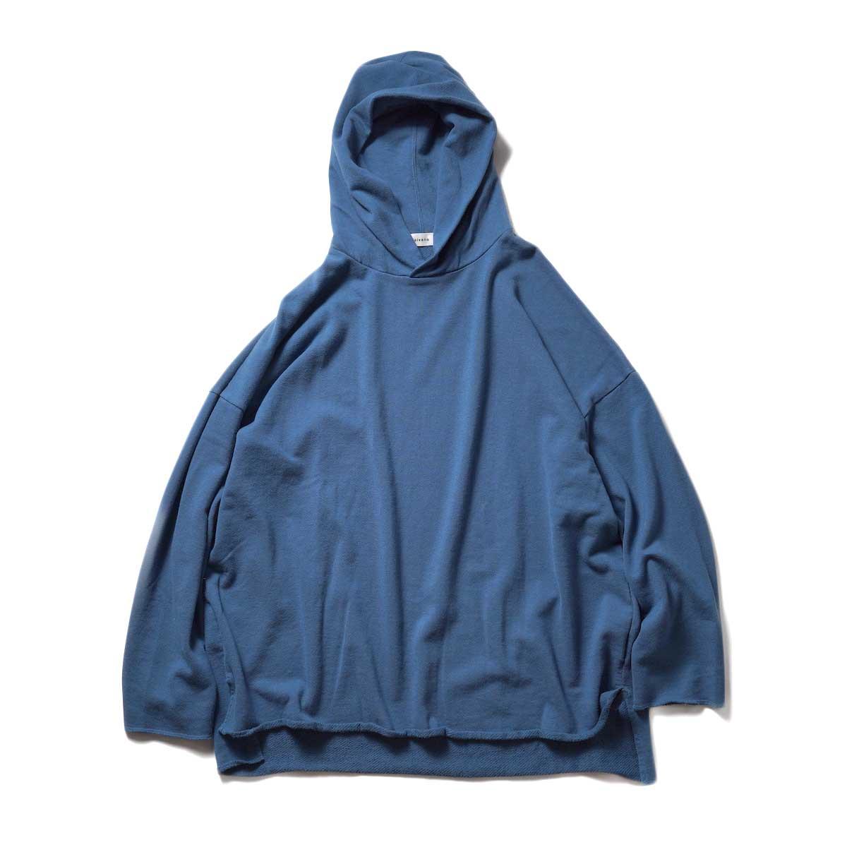 alvana / Ultimate Cut Off Parka (Smoke Blue)