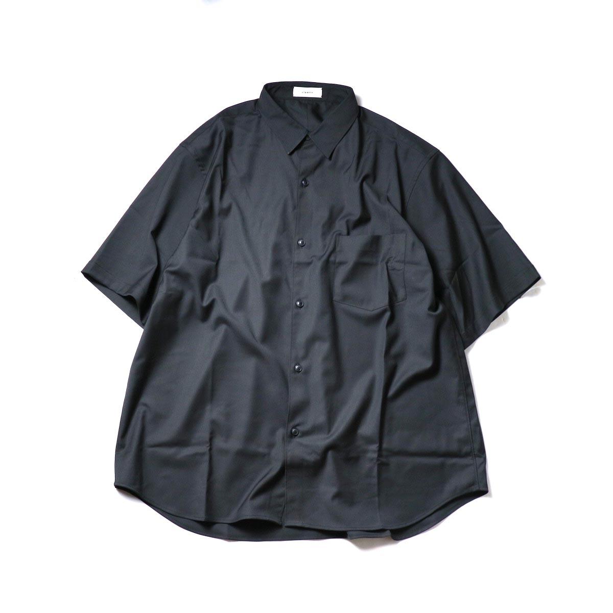 alvana / Wrinkle Proof Shirts (Black)