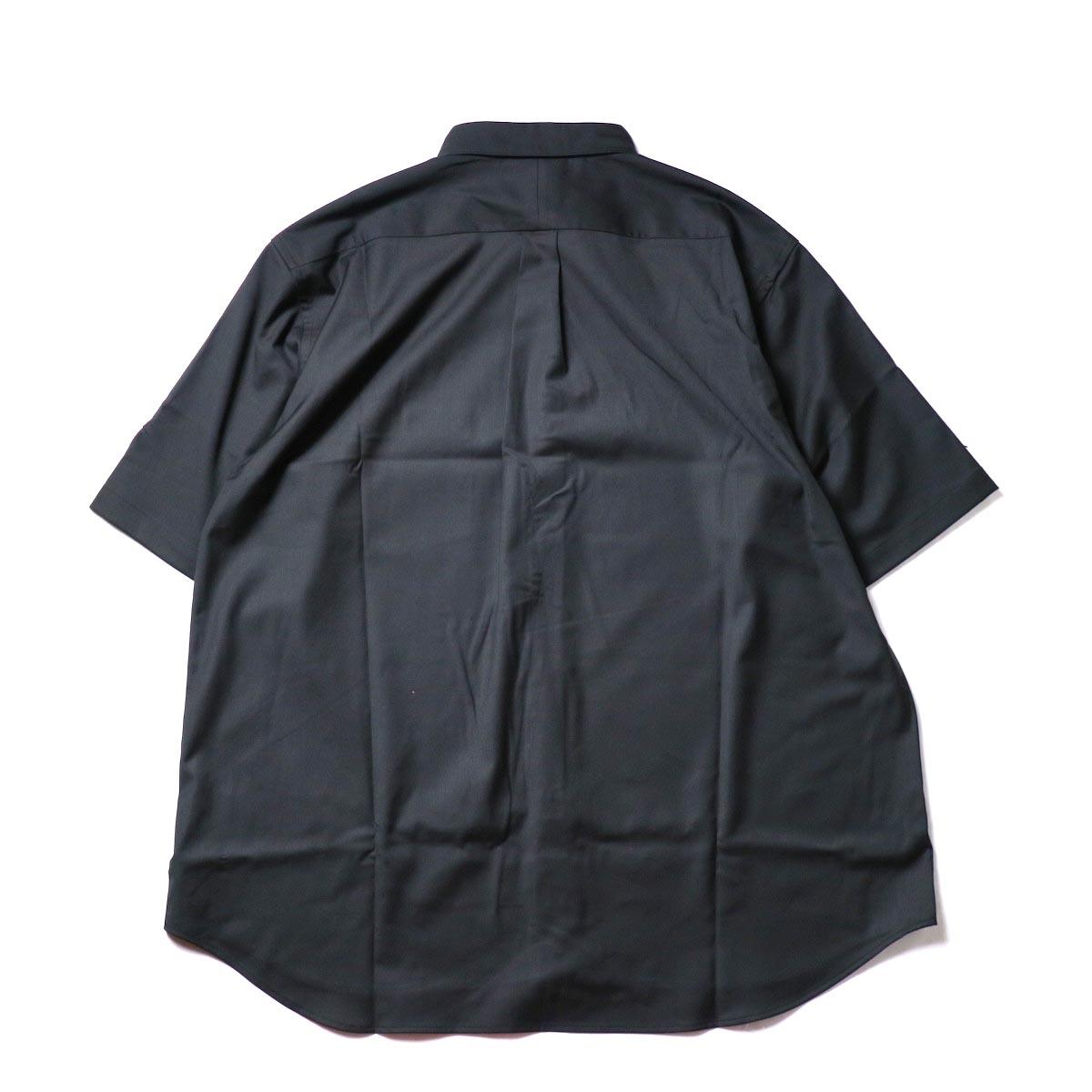 alvana / Wrinkle Proof Shirts (Black)背面
