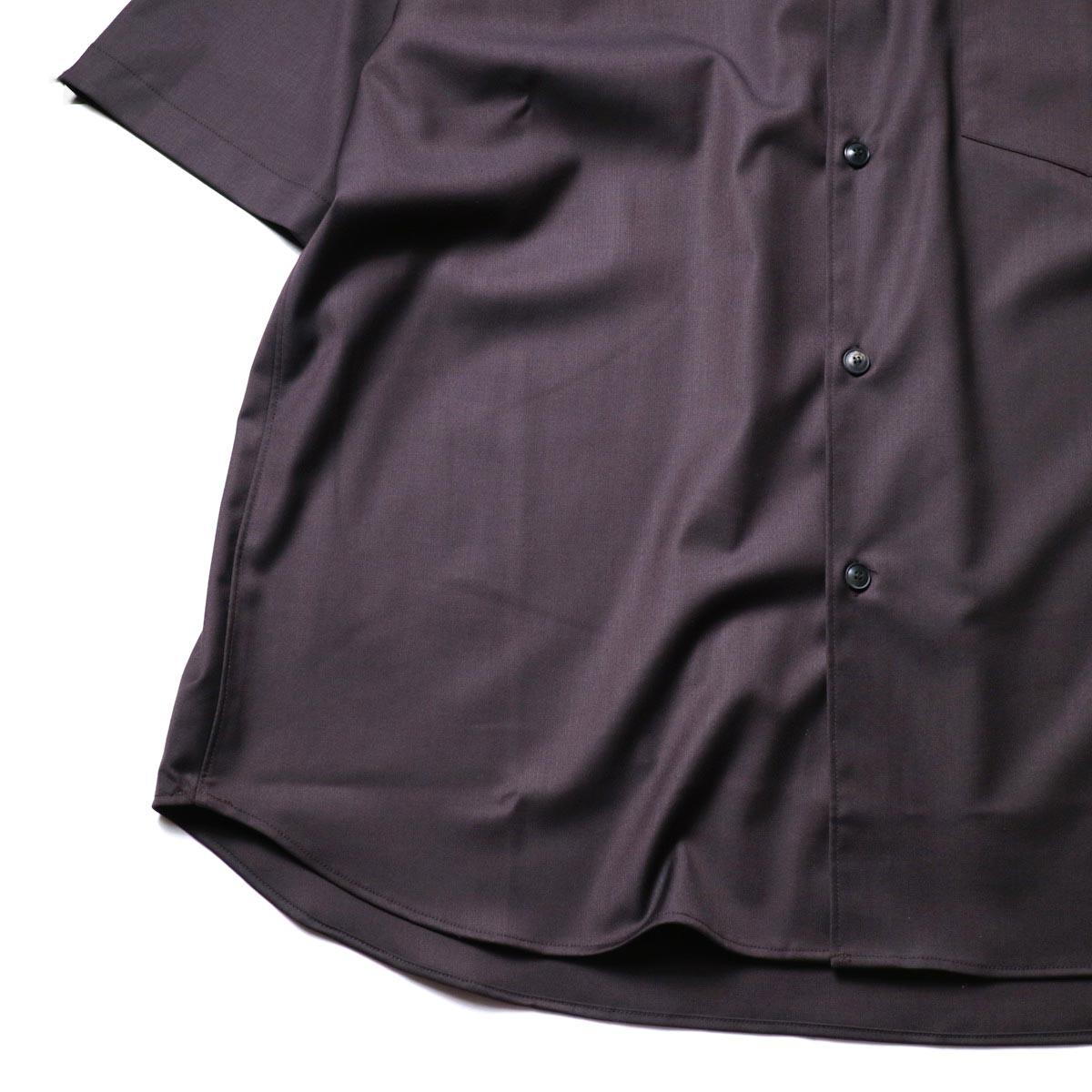 alvana / Wrinkle Proof Shirts (Charcoal)袖、裾