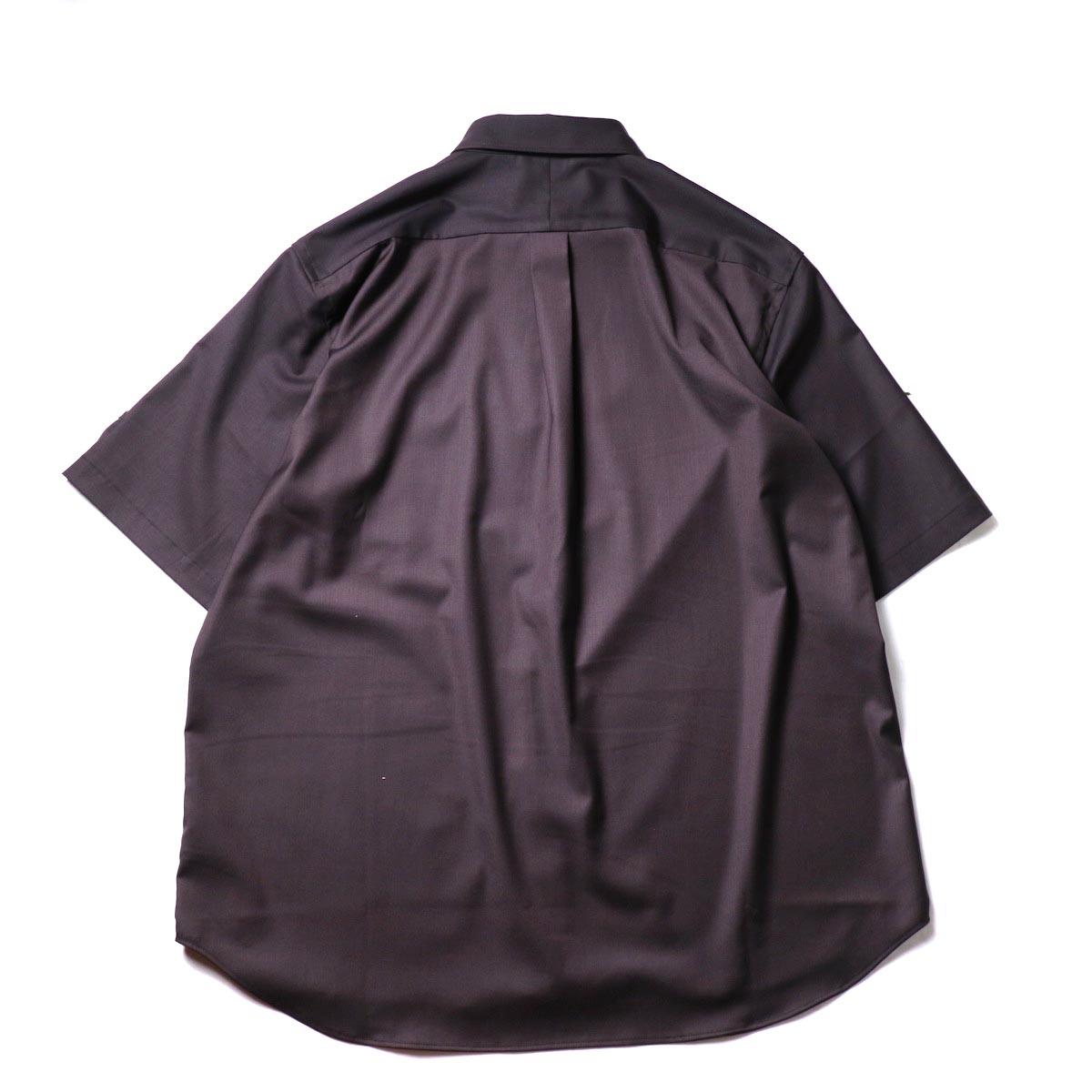 alvana / Wrinkle Proof Shirts (Charcoal)背面