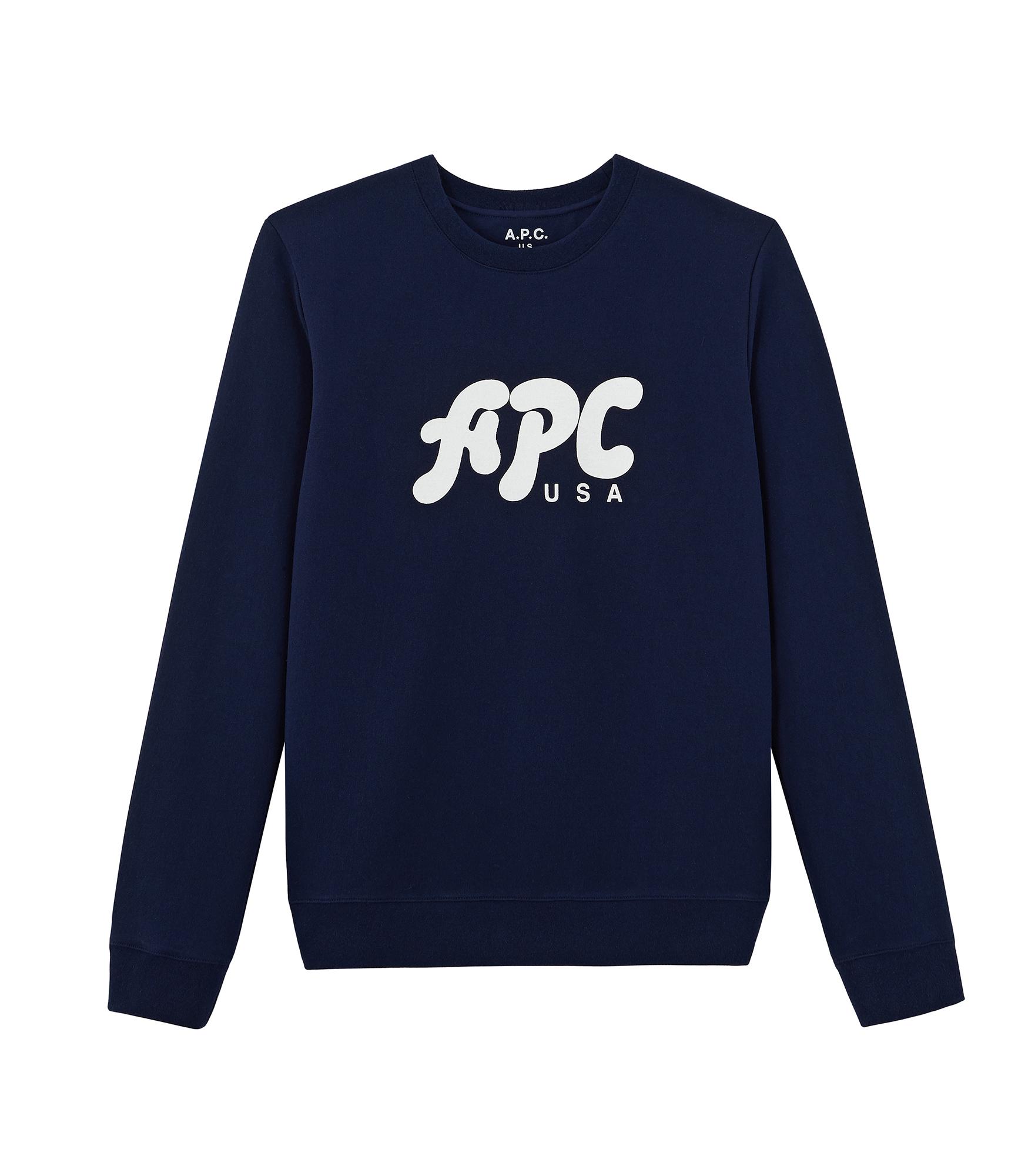 A.P.C. / Gabe Sweat Shirt -DK.NAVY