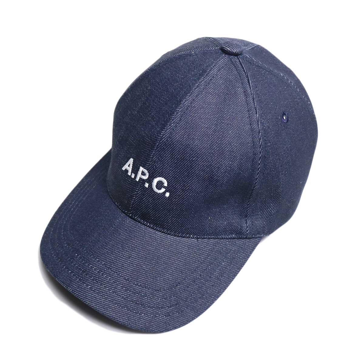 A.P.C / Charlie キャスケット (Indigo)