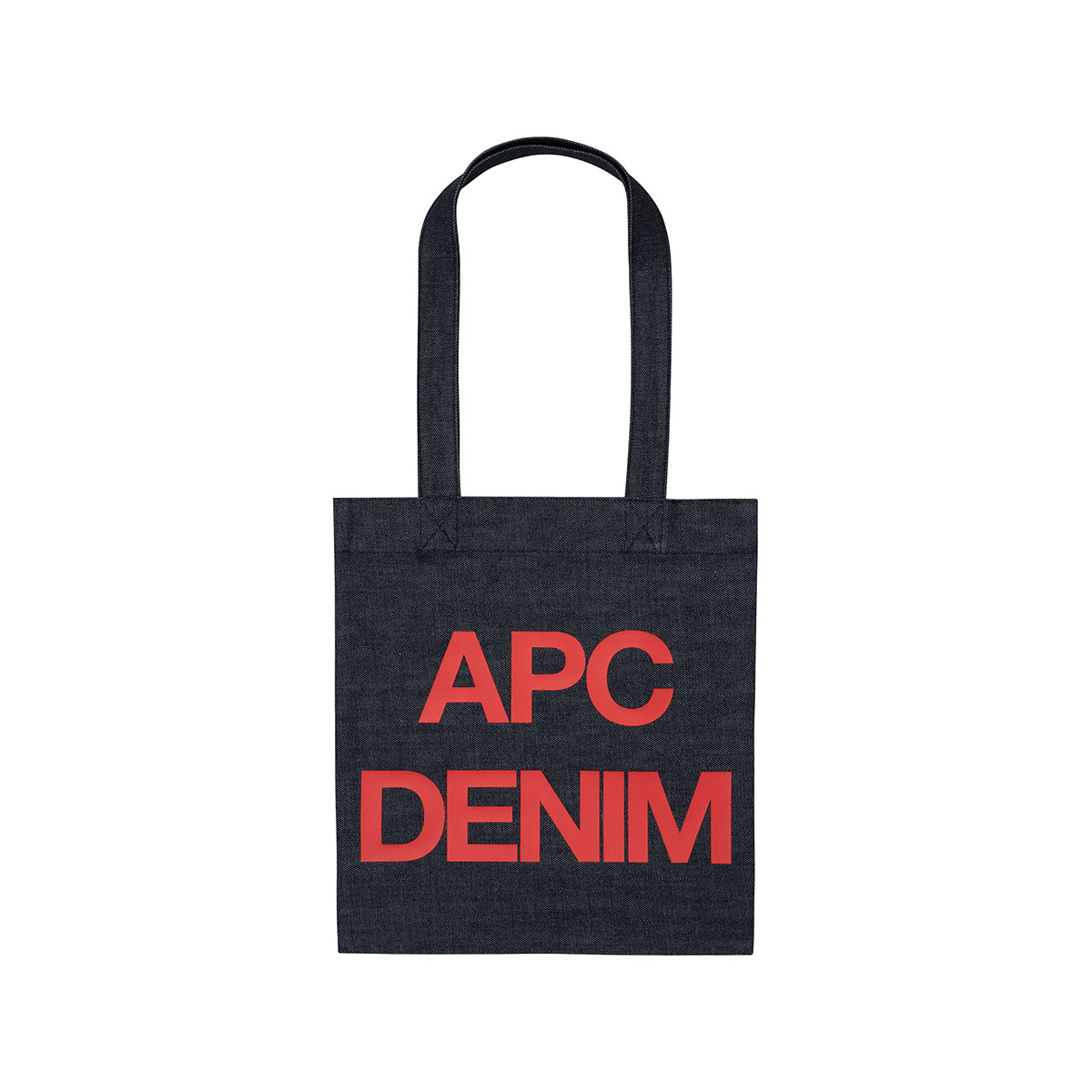 A.P.C. / TOTE BAG APC DENIM -RED