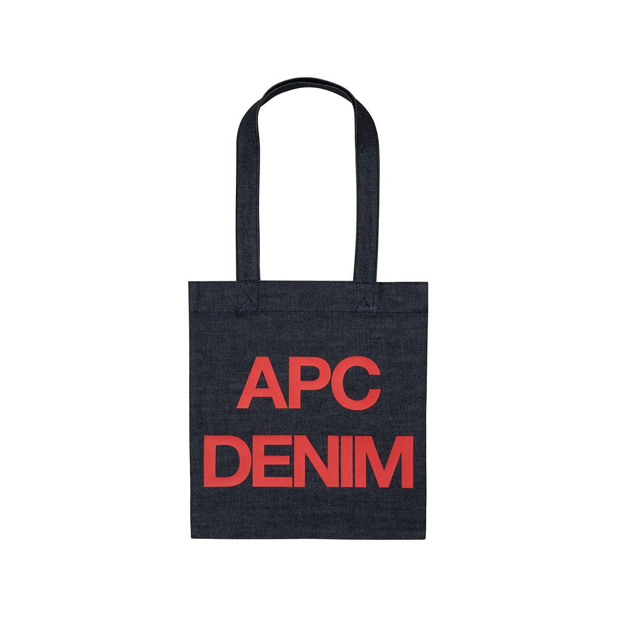 A.P.C. / TOTE BAG APC DENIM -RED