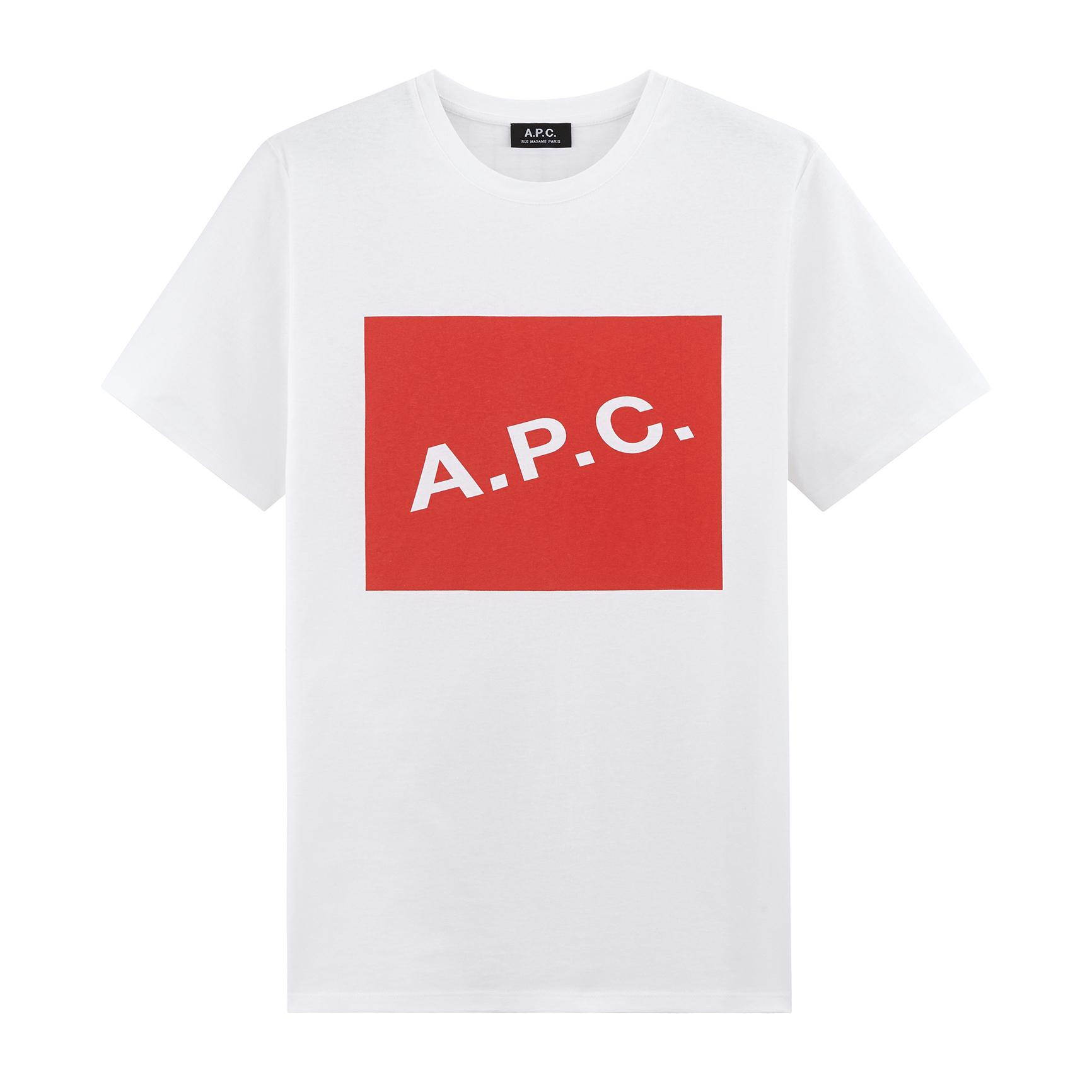 A.P.C. / Kraft 18p Tee -red