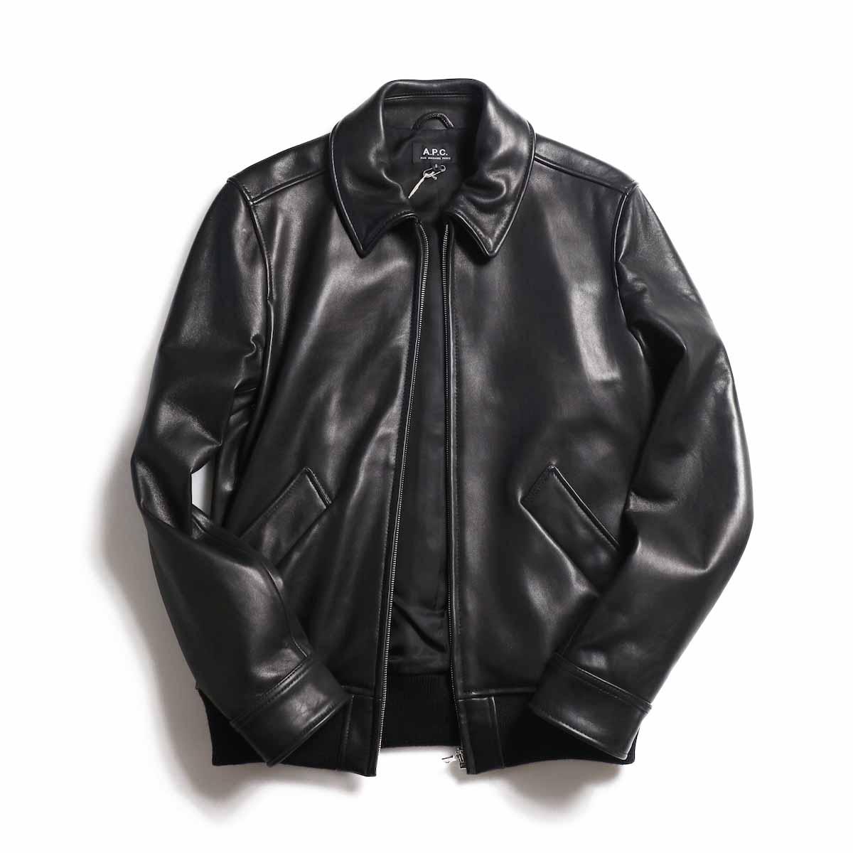 A.P.C. / Moto Blouson -Black