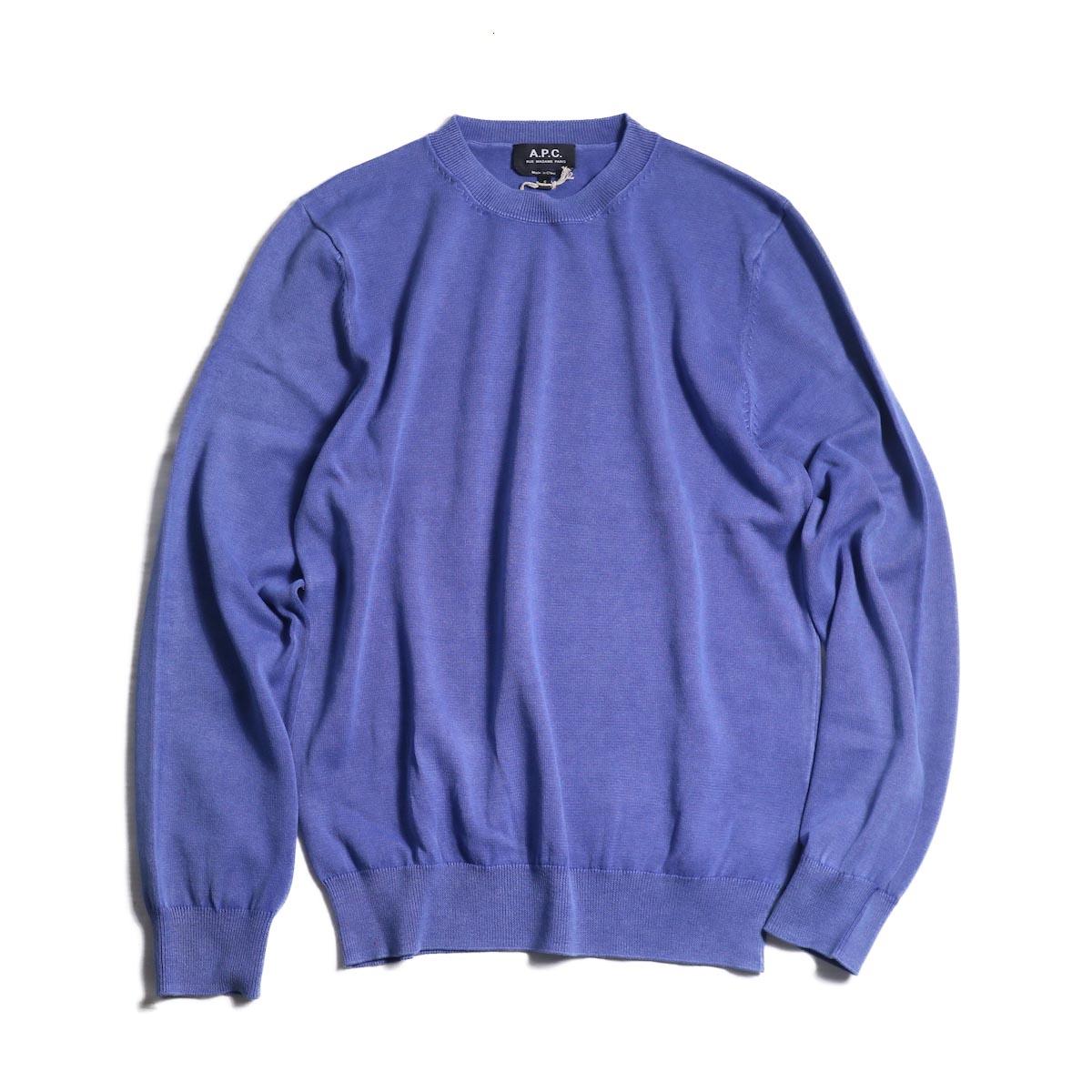 A.P.C. / Mecano Sweat Shirt -INDIGO