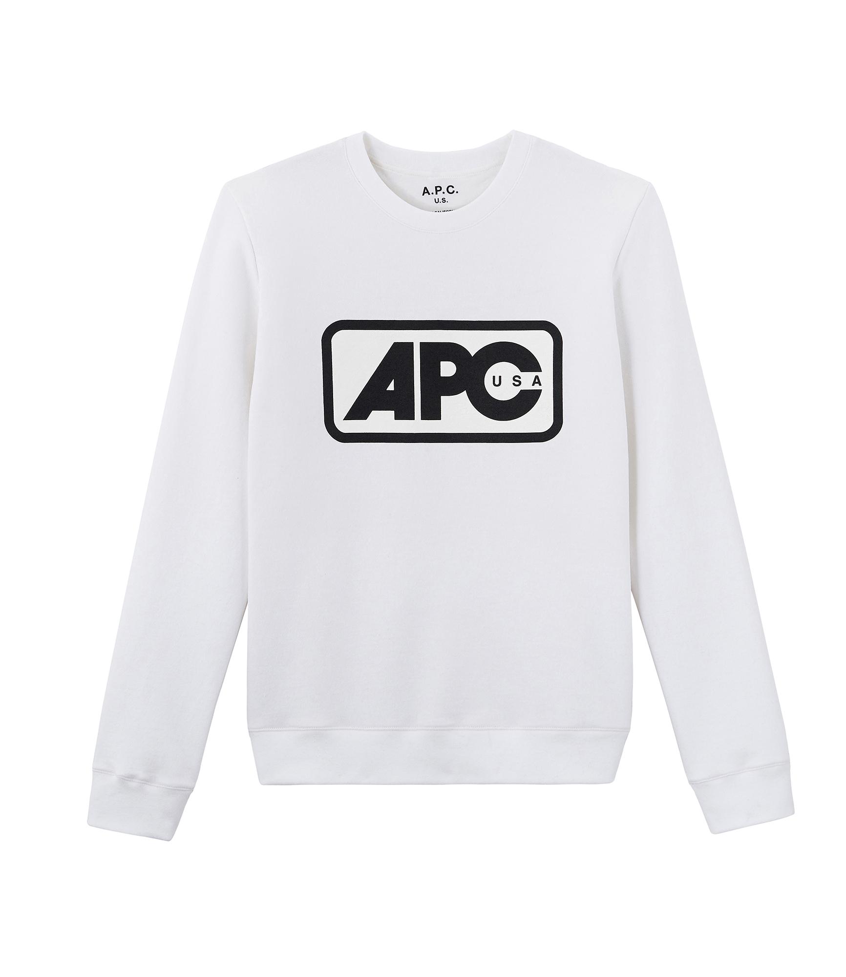 A.P.C. / Vince Sweat Shirt -WHITE