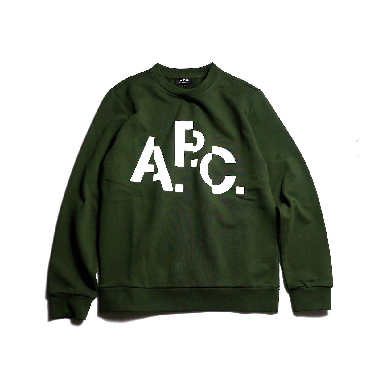 A.P.C. / Décalé スウェット (Military Green)