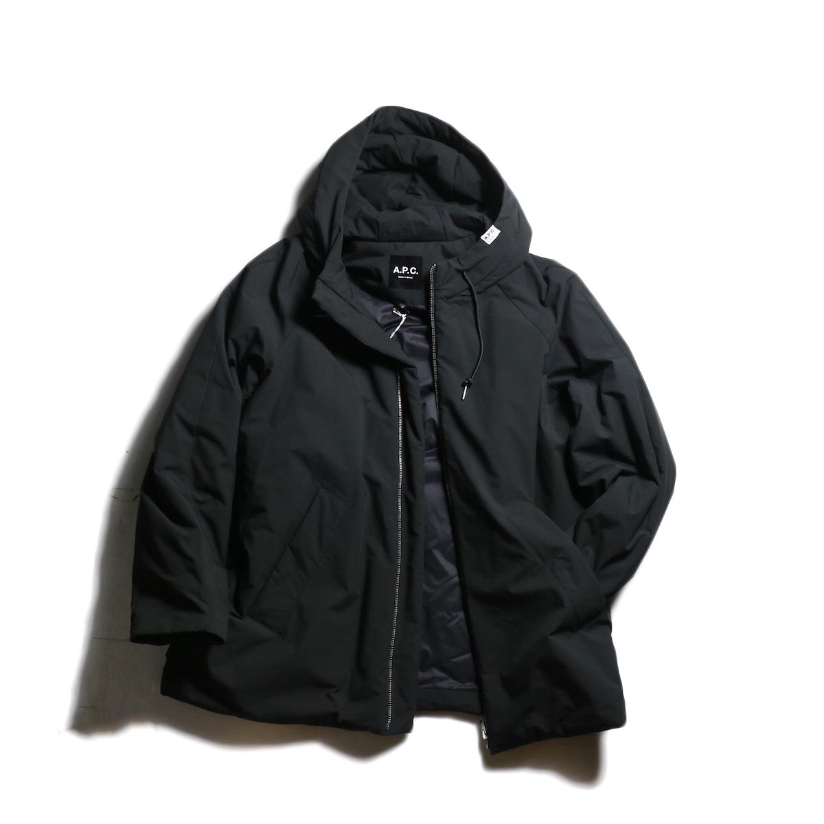 A.P.C. / East パーカ (Black)