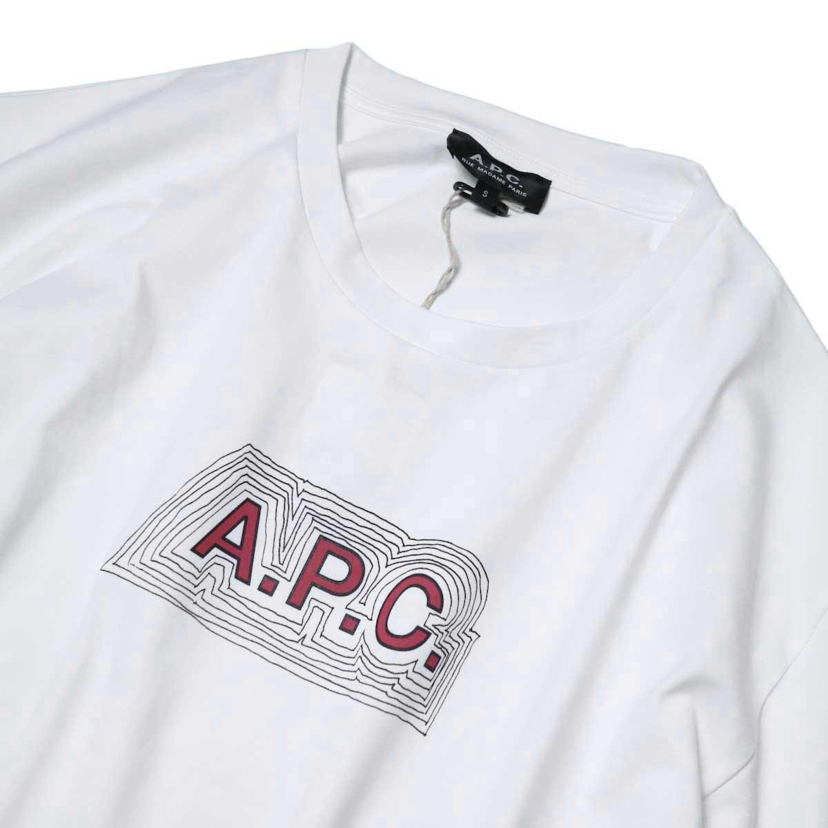 A.P.C. / Eliane Tシャツ フロント