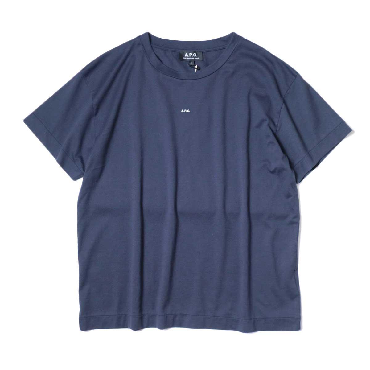 A.P.C. / Jade Tシャツ (Navy) 正面