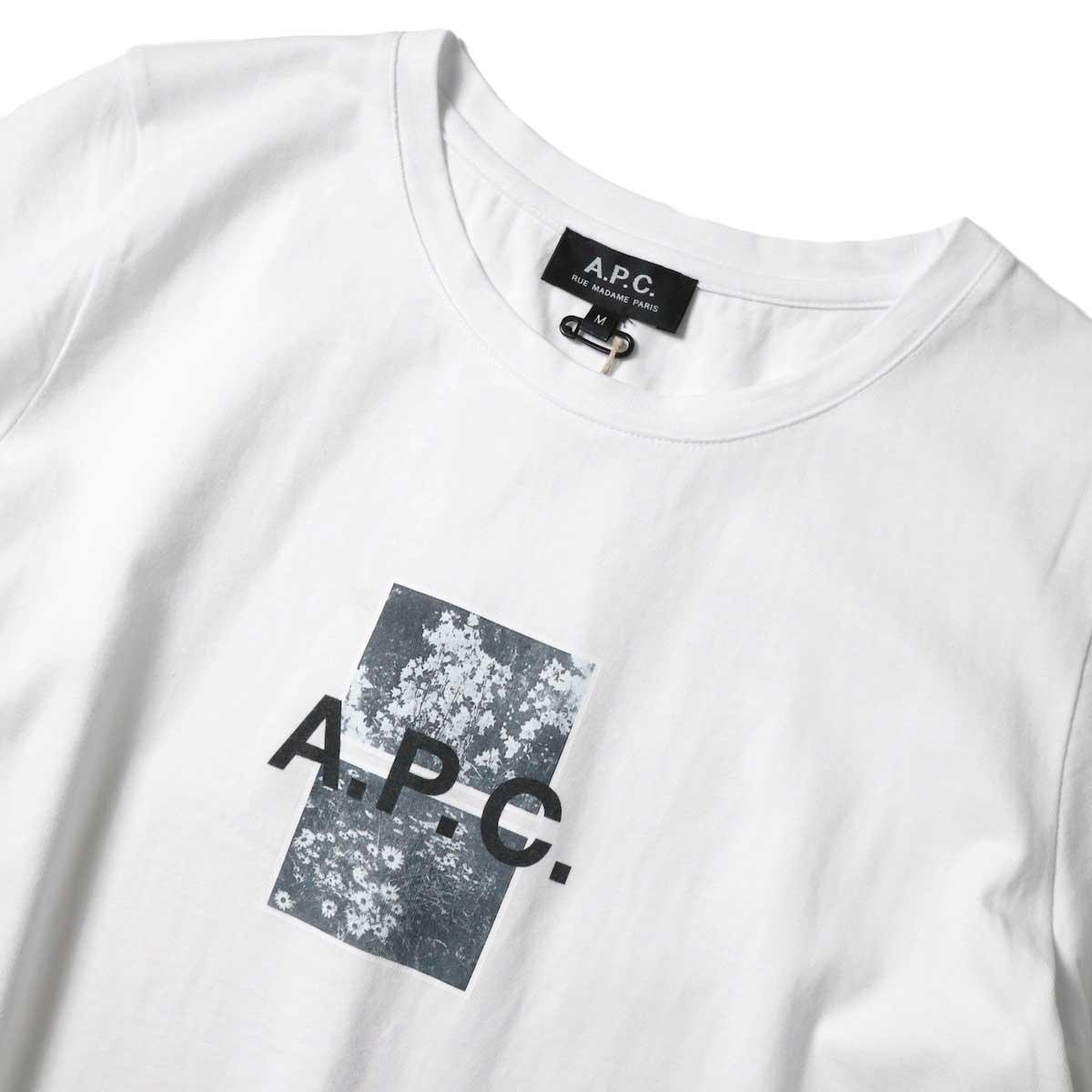 A.P.C. / ERYN Tシャツ (White) プリント