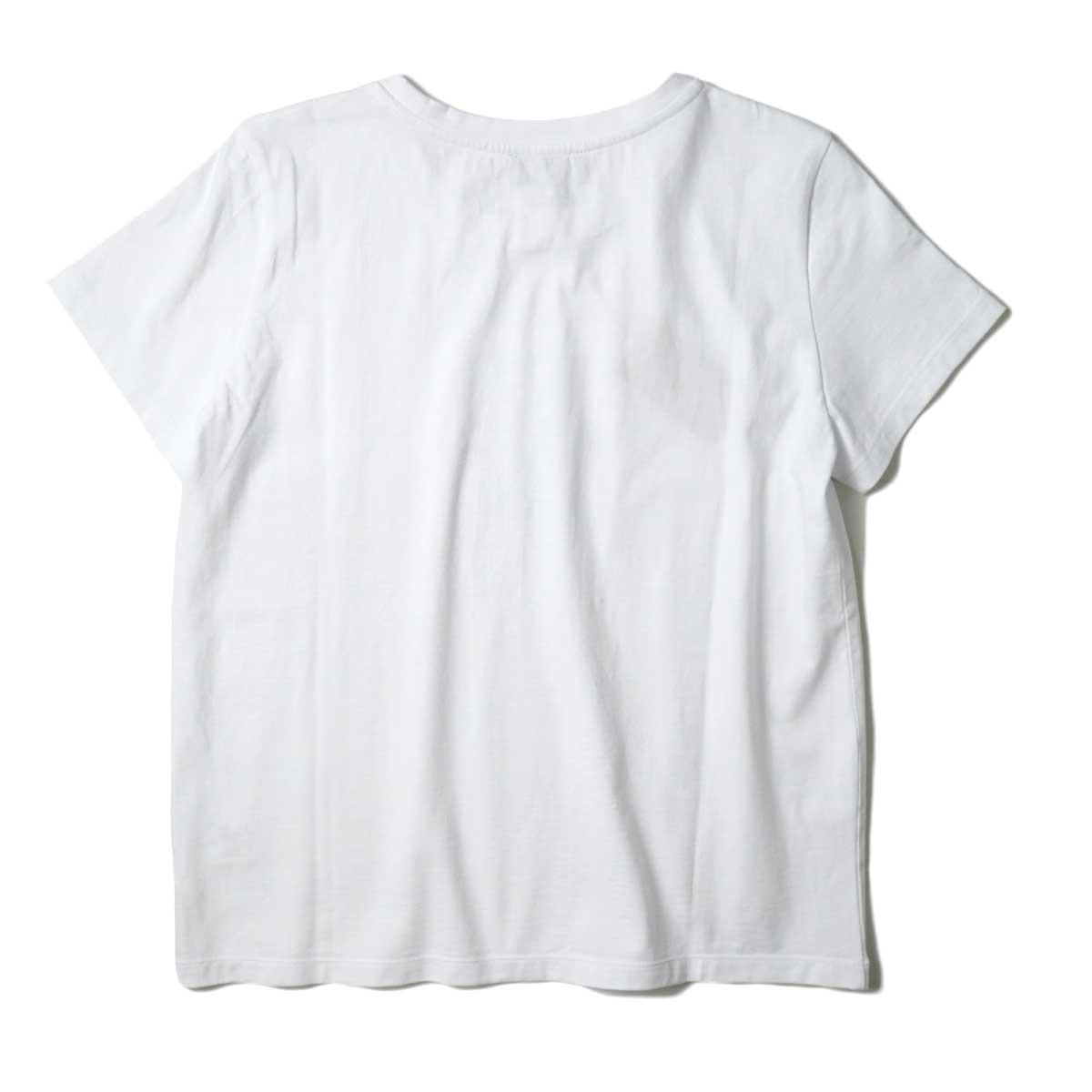 A.P.C. / ERYN Tシャツ (White) 背面