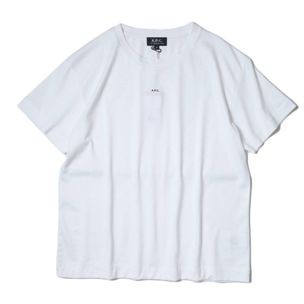 A.P.C. / Jade Tシャツ (White) 正面