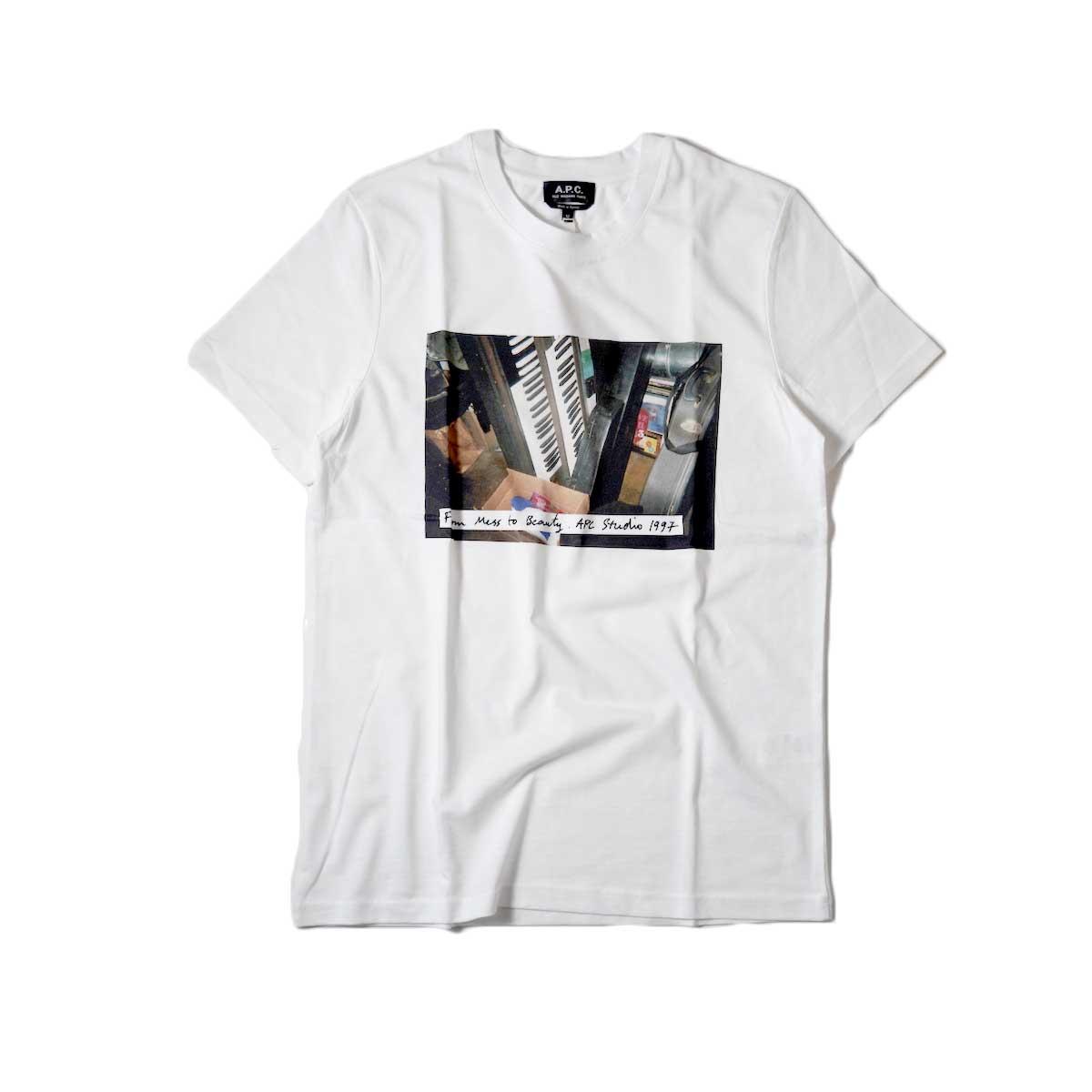 A.P.C. / Jacques Tシャツ (White)