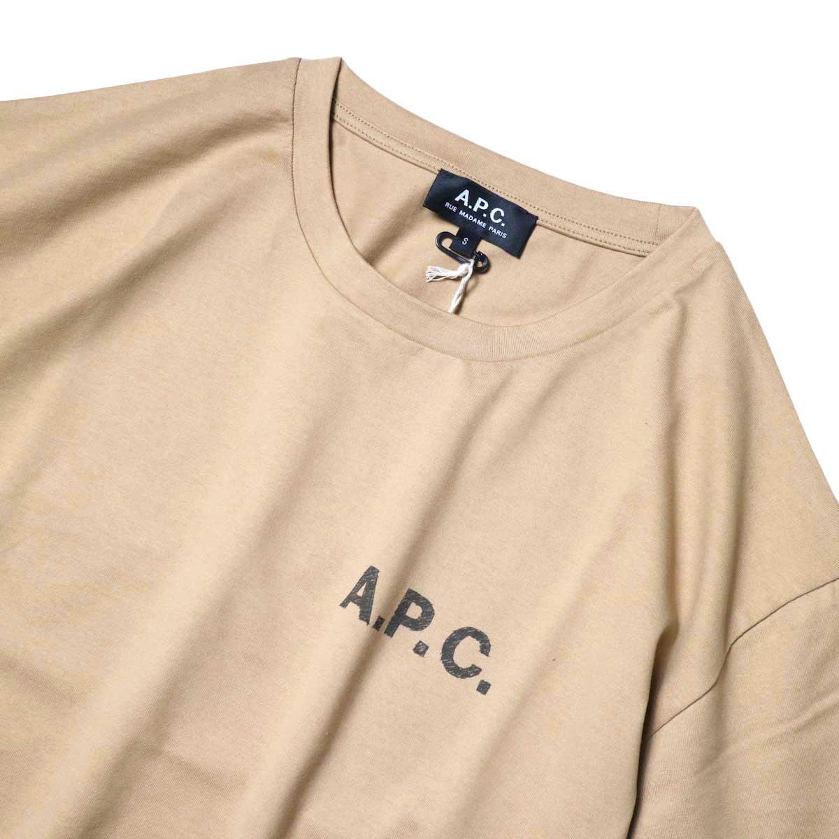 A.P.C. / Judy Tシャツ (Beige) フロント