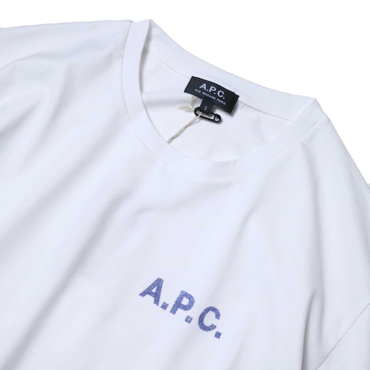 A.P.C. / Judy Tシャツ (White) フロント