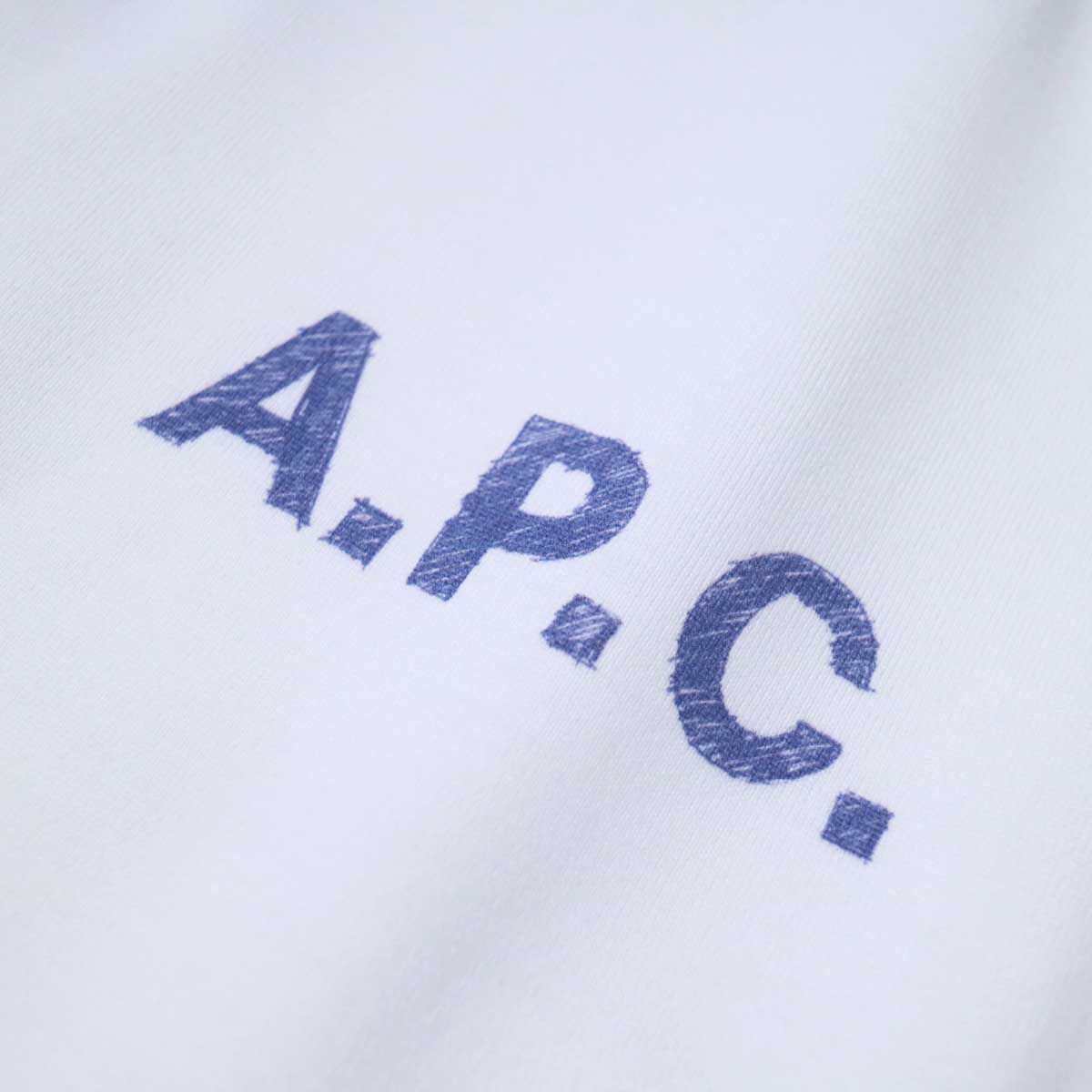 A.P.C. / Judy Tシャツ (White) ロゴアップ