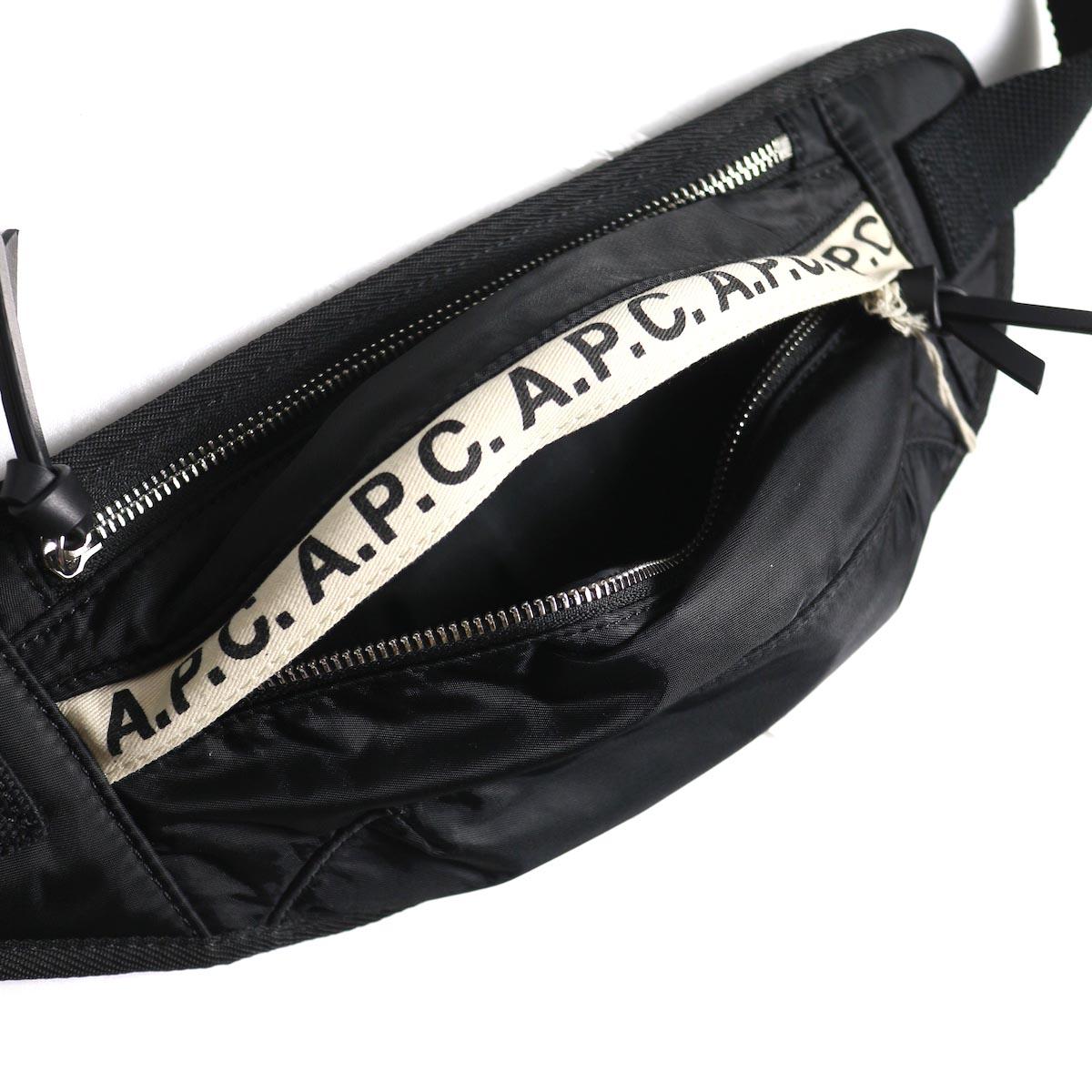 A.P.C. / Lucille ヒップバッグ 収納2