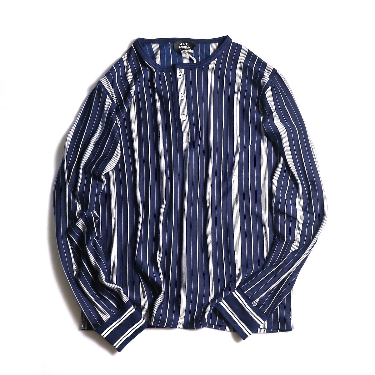 A.P.C. / Merioul Long Sleeve T-Shirt -Navy