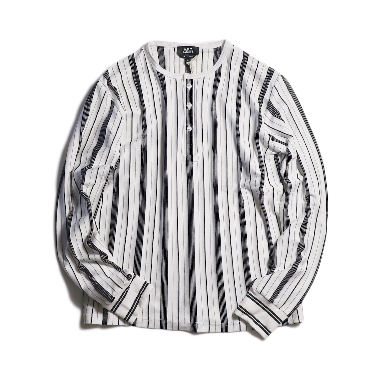 A.P.C. / Merioul Long Sleeve T-Shirt -White