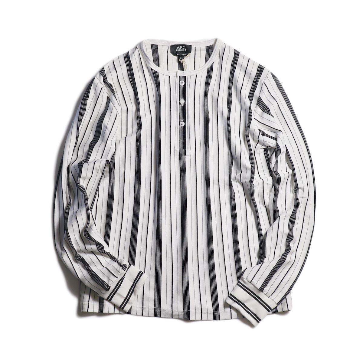 A.P.C. / Merioul Long Sleeve T-Shirt -White