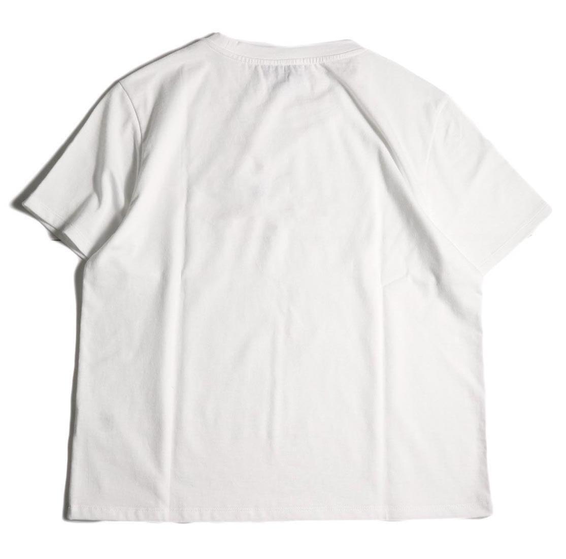 A.P.C. / Crew Neck Pocket Tee (White) 背面