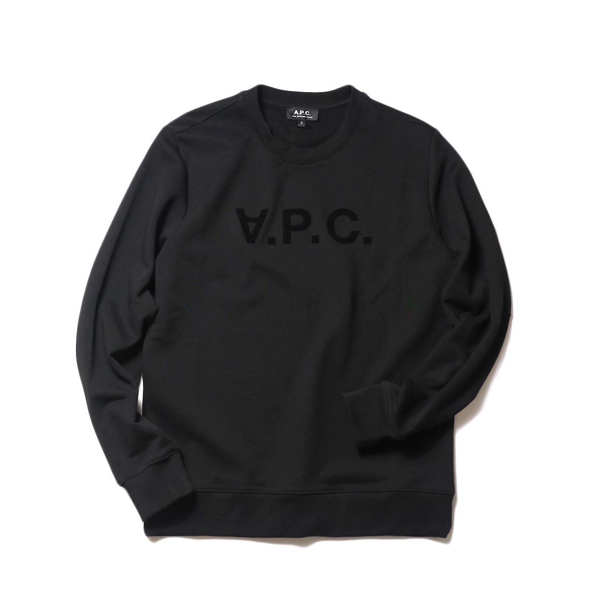 A.P.C. / VPC スウェットシャツ (black) 正面