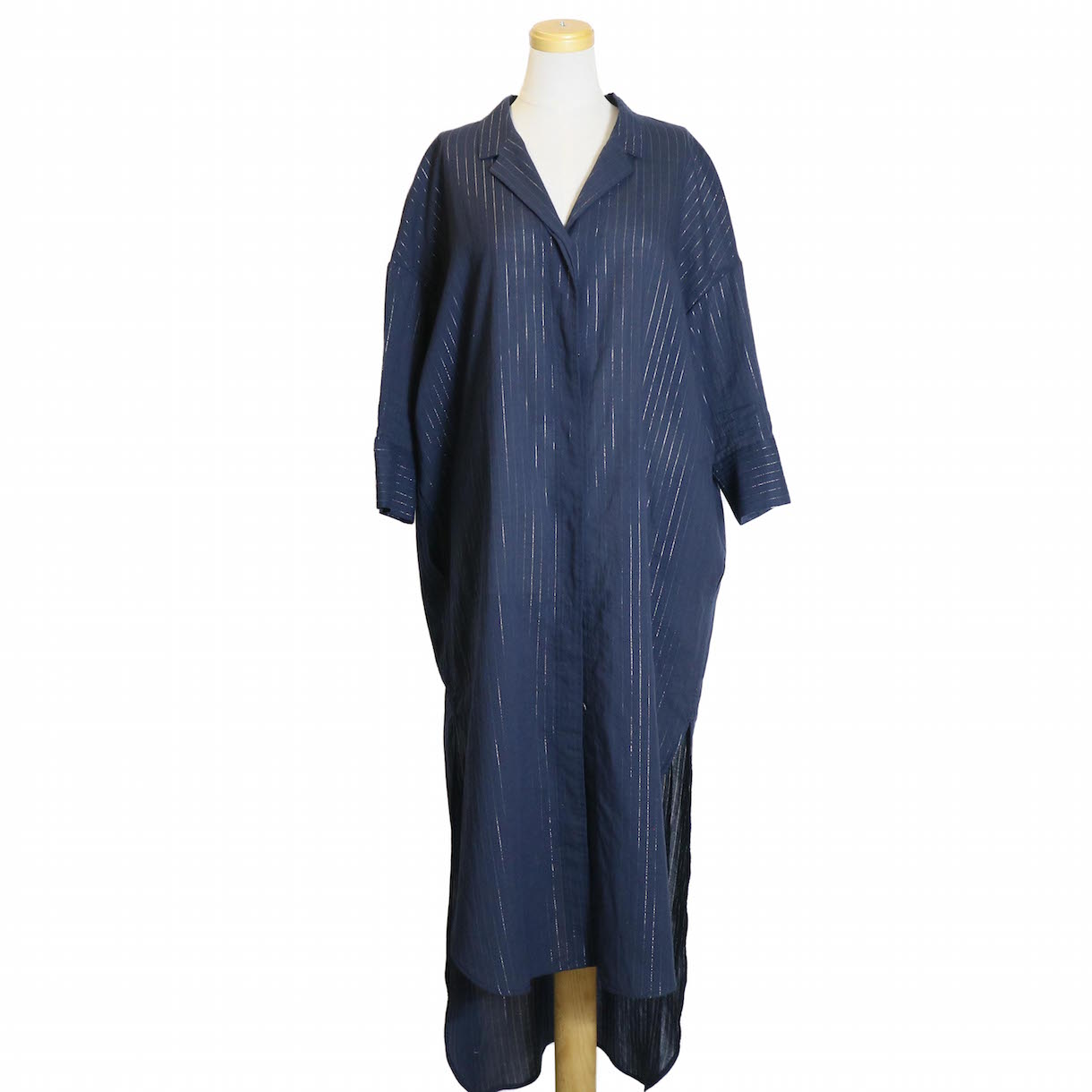 archi / FLUORITE LONG SHIRTS-NAVY