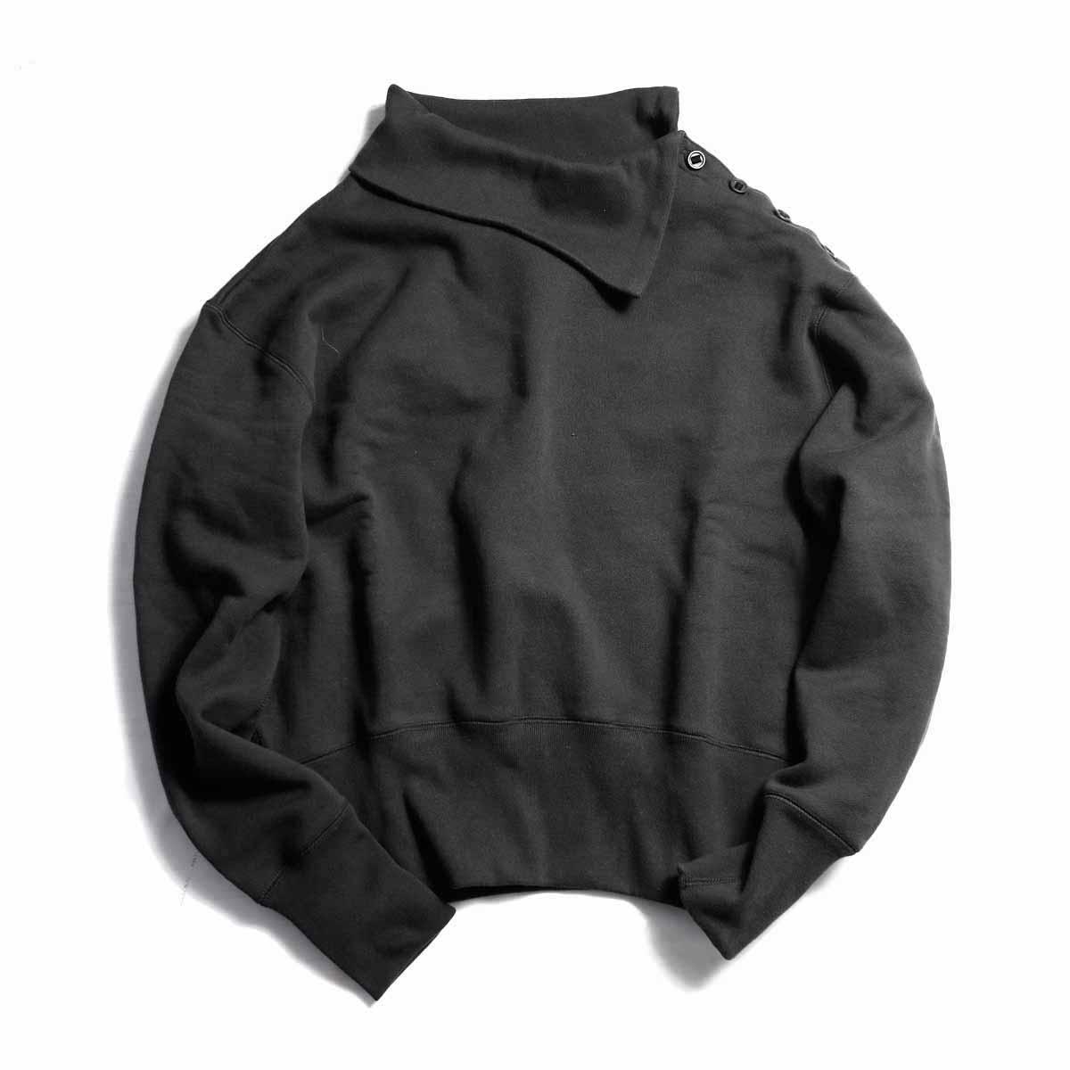archi / VINCA SWEAT TOP-Black