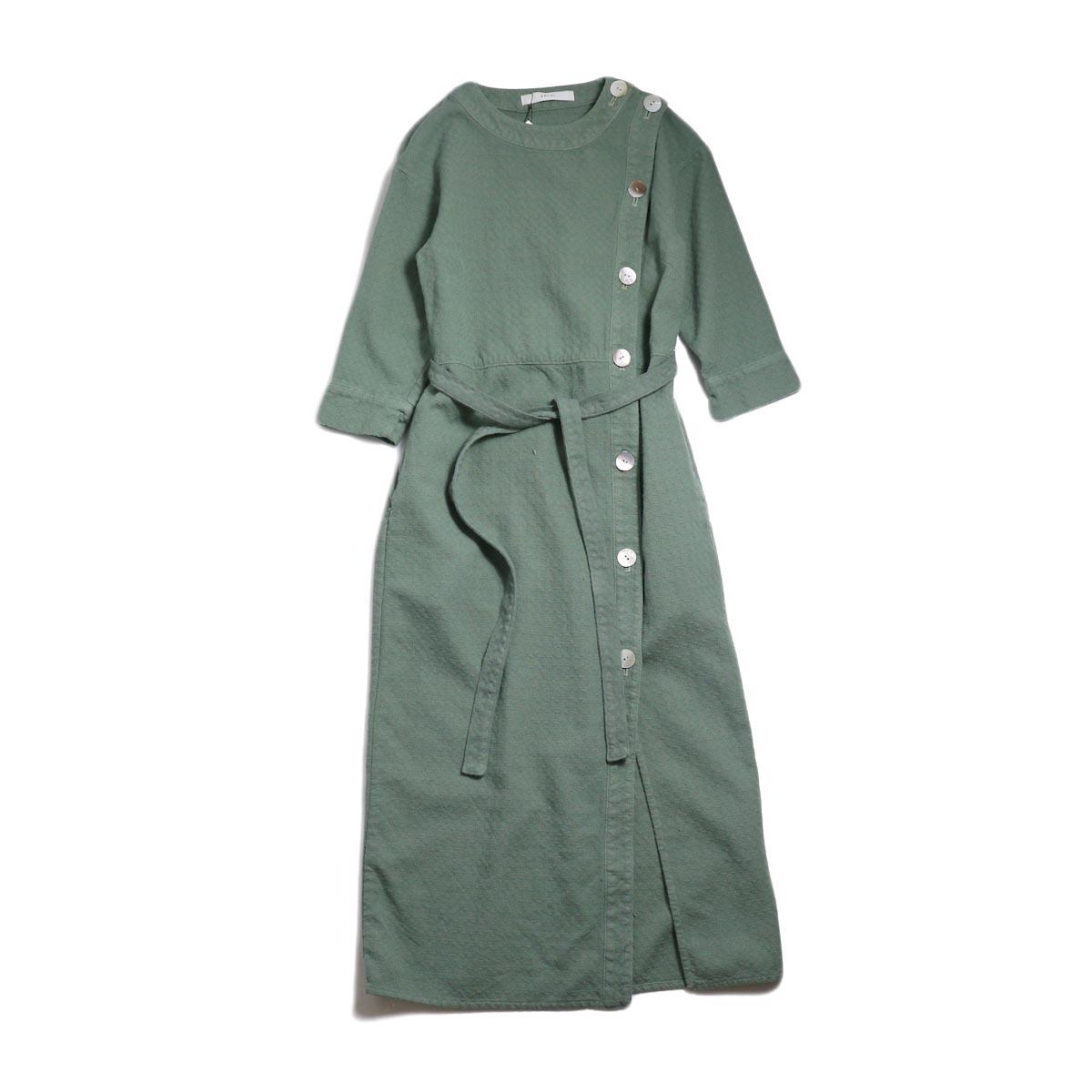 archi / Cuphea Long Shirt -Blue 正面